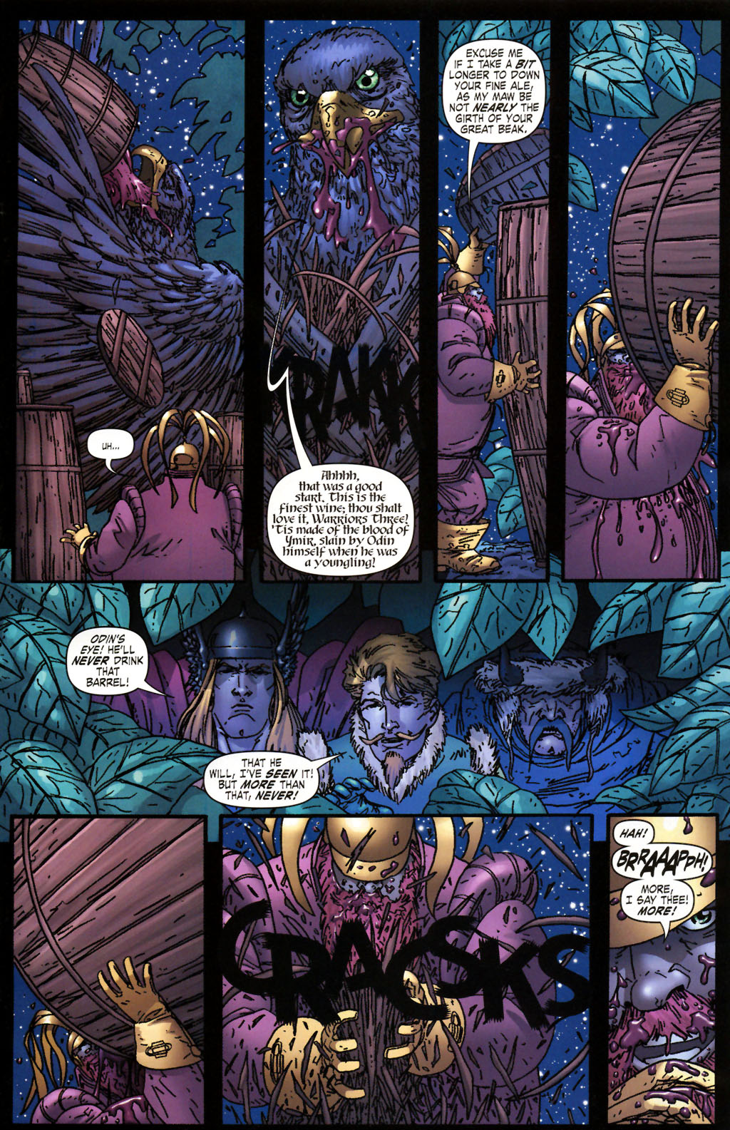 Read online Thor: Blood Oath comic -  Issue #2 - 10