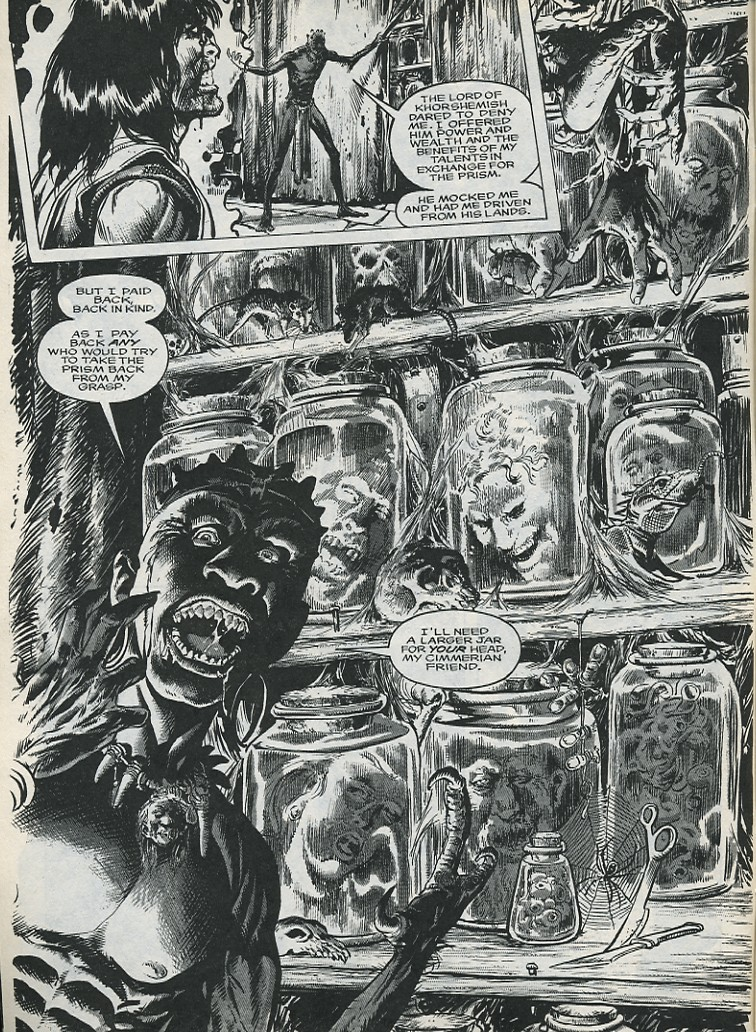 The Savage Sword Of Conan Issue #176 #177 - English 8