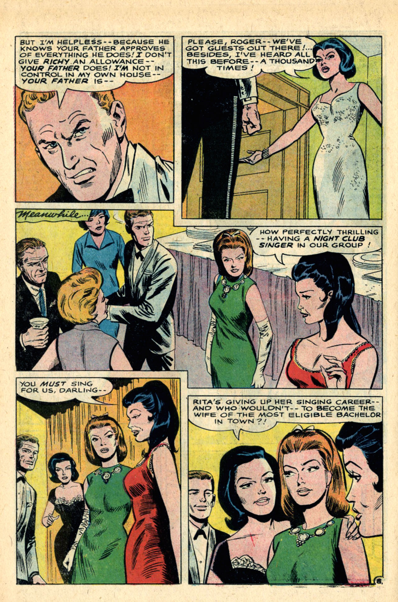 Read online Secret Hearts comic -  Issue #120 - 26