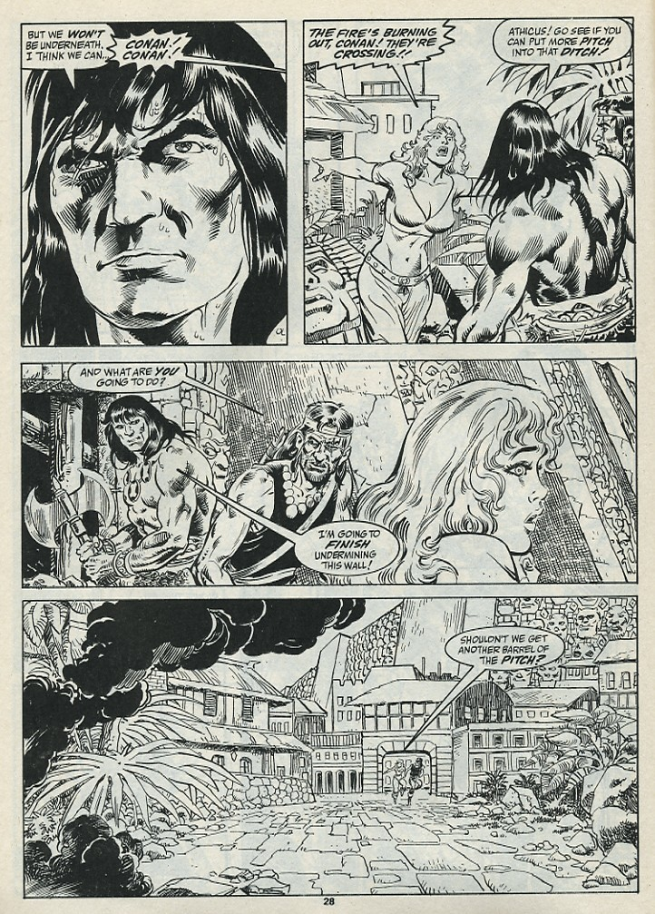 The Savage Sword Of Conan Issue #182 #183 - English 30