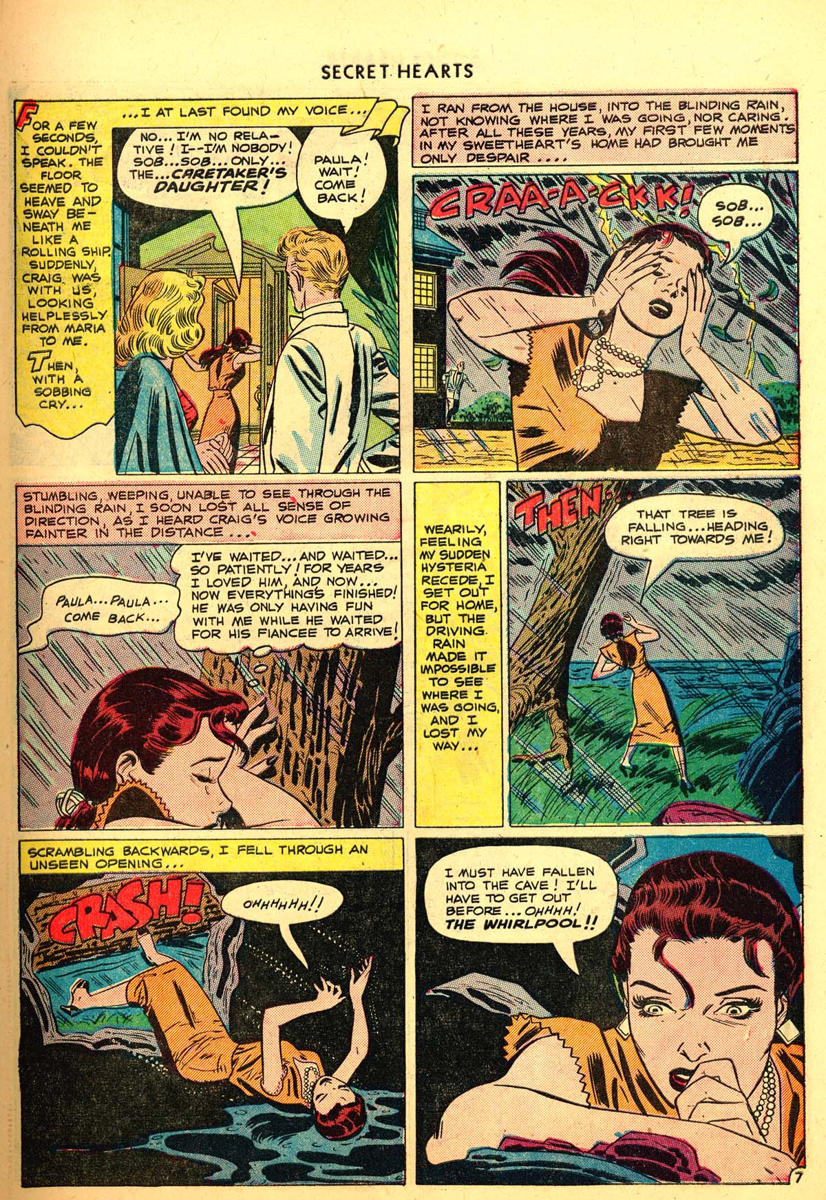 Read online Secret Hearts comic -  Issue #6 - 9