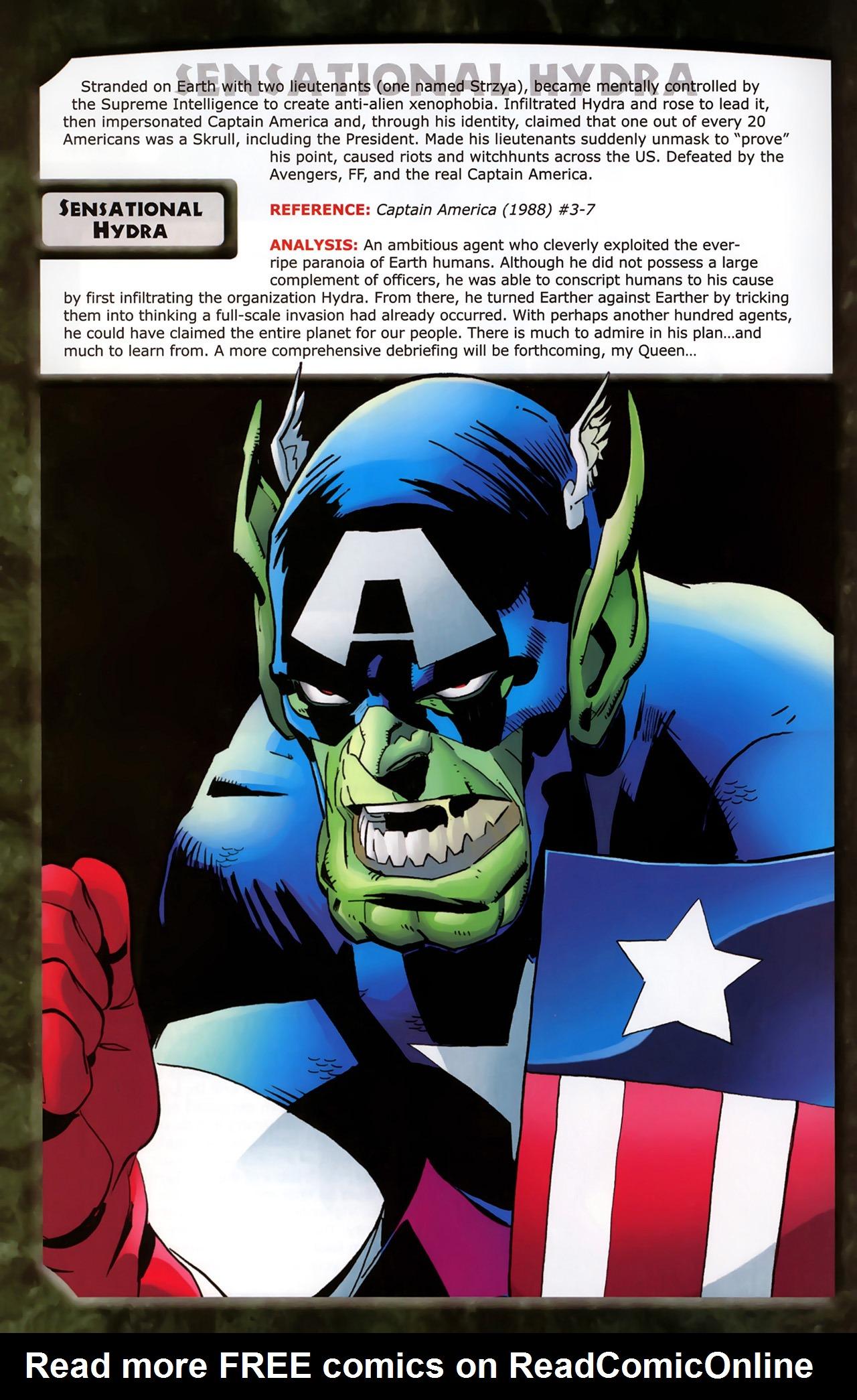 Read online Skrulls! comic -  Issue # Full - 42