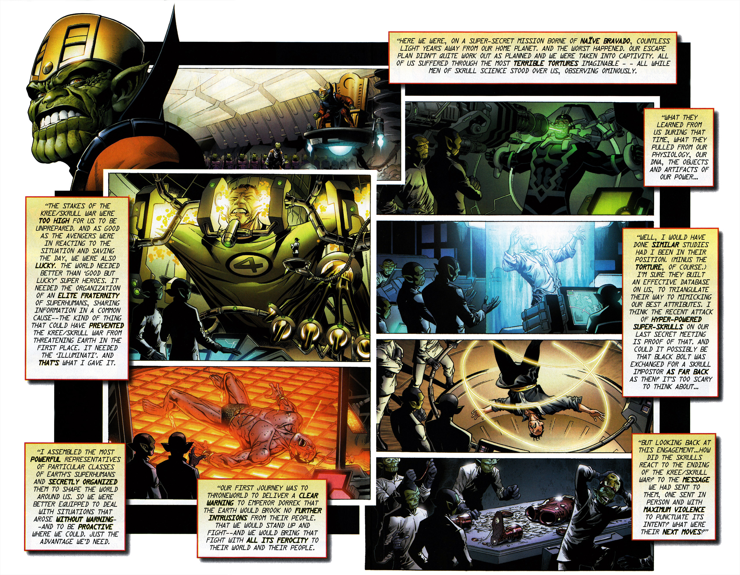 Read online Secret Invasion Saga comic -  Issue # Full - 15