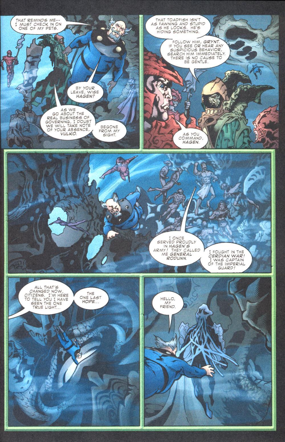 Aquaman (2003) Issue #10 #10 - English 19