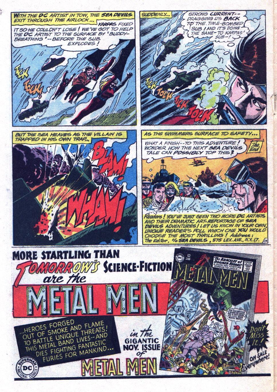 Read online Sea Devils comic -  Issue #14 - 32
