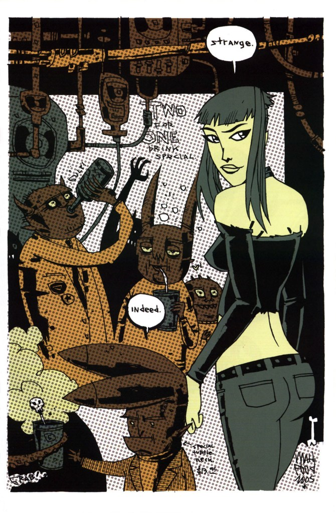 Strange Girl Issue #1 #2 - English 34