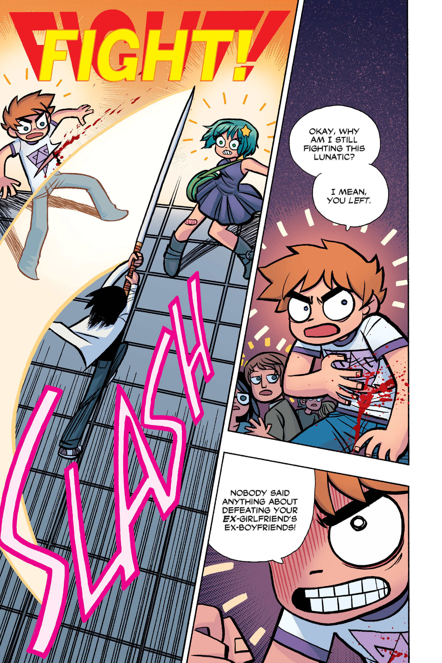 Read online Scott Pilgrim comic -  Issue #6 - 148
