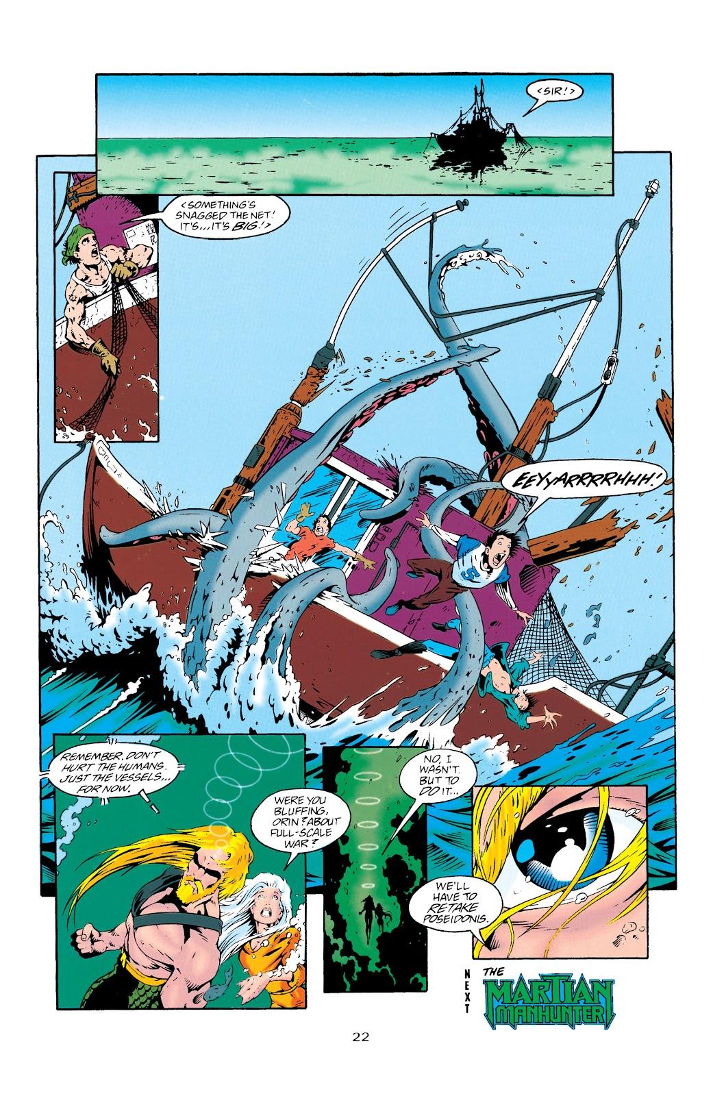 Aquaman (1994) Issue #27 #33 - English 23
