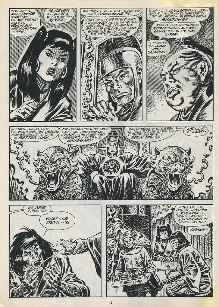 The Savage Sword Of Conan Issue #194 #195 - English 14