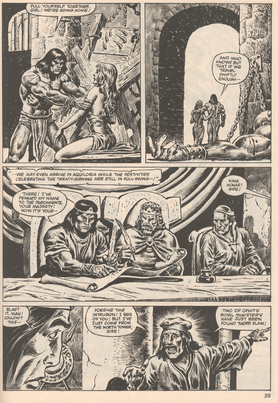 The Savage Sword Of Conan Issue #104 #105 - English 39