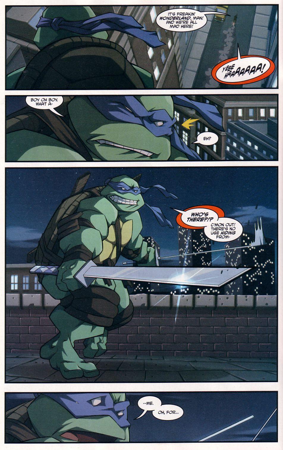 Teenage Mutant Ninja Turtles (2003) chap 7 pic 8