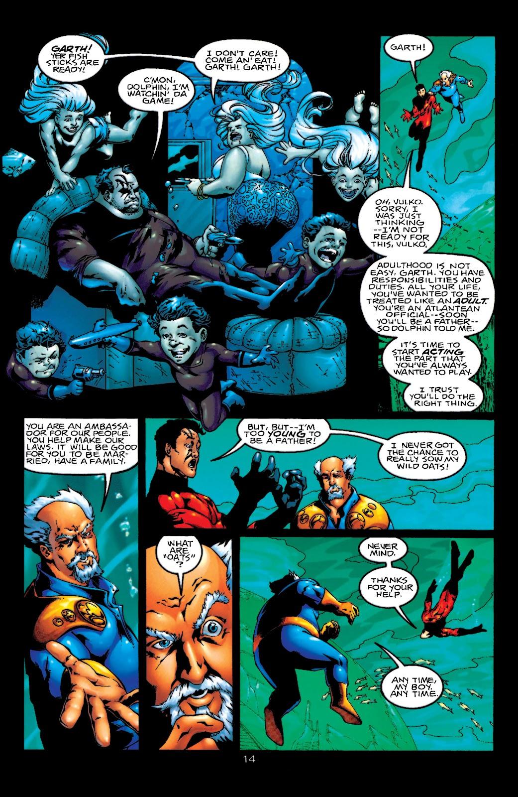 Aquaman (1994) Issue #55 #61 - English 15