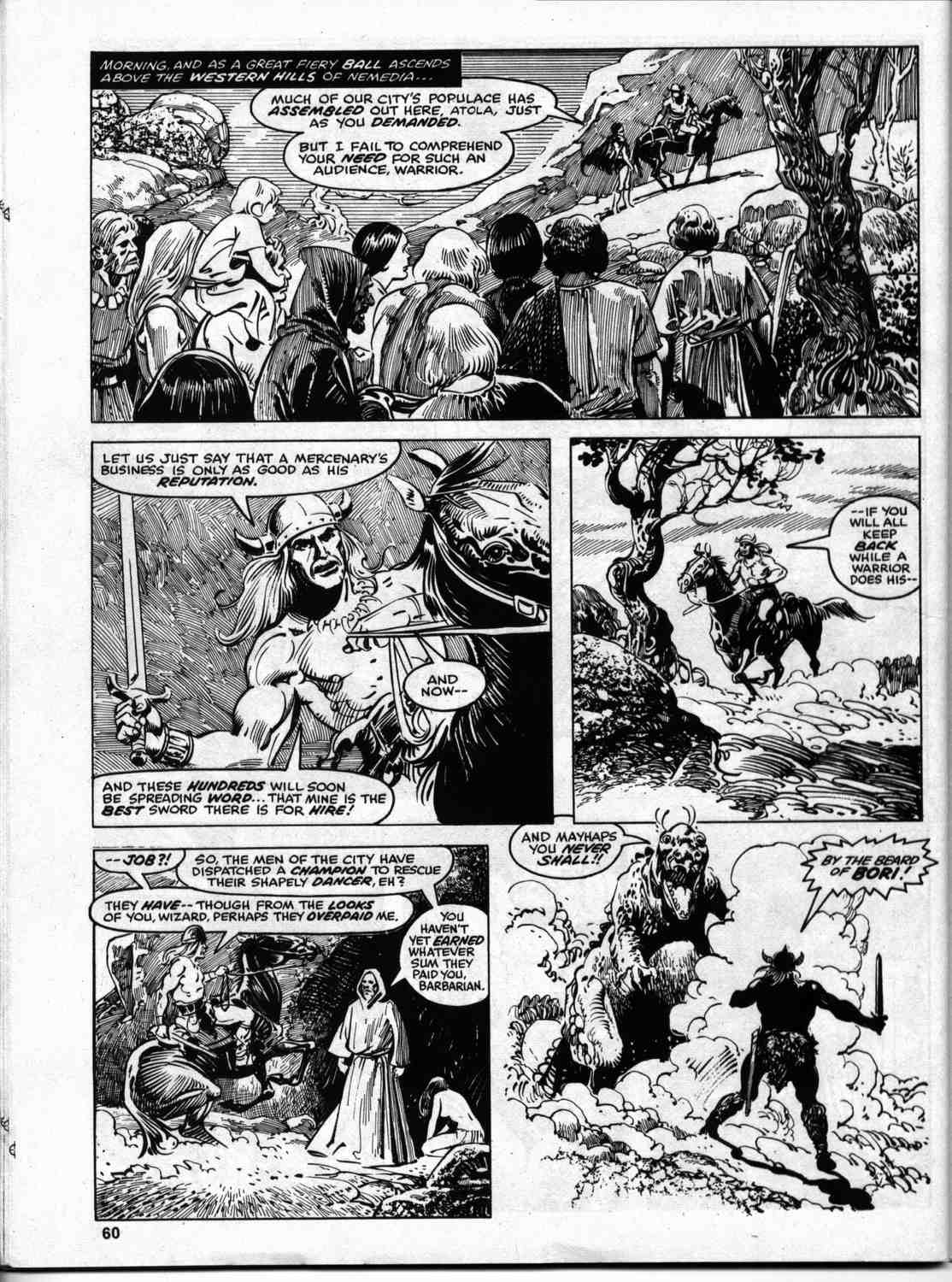 The Savage Sword Of Conan Issue #46 #47 - English 58