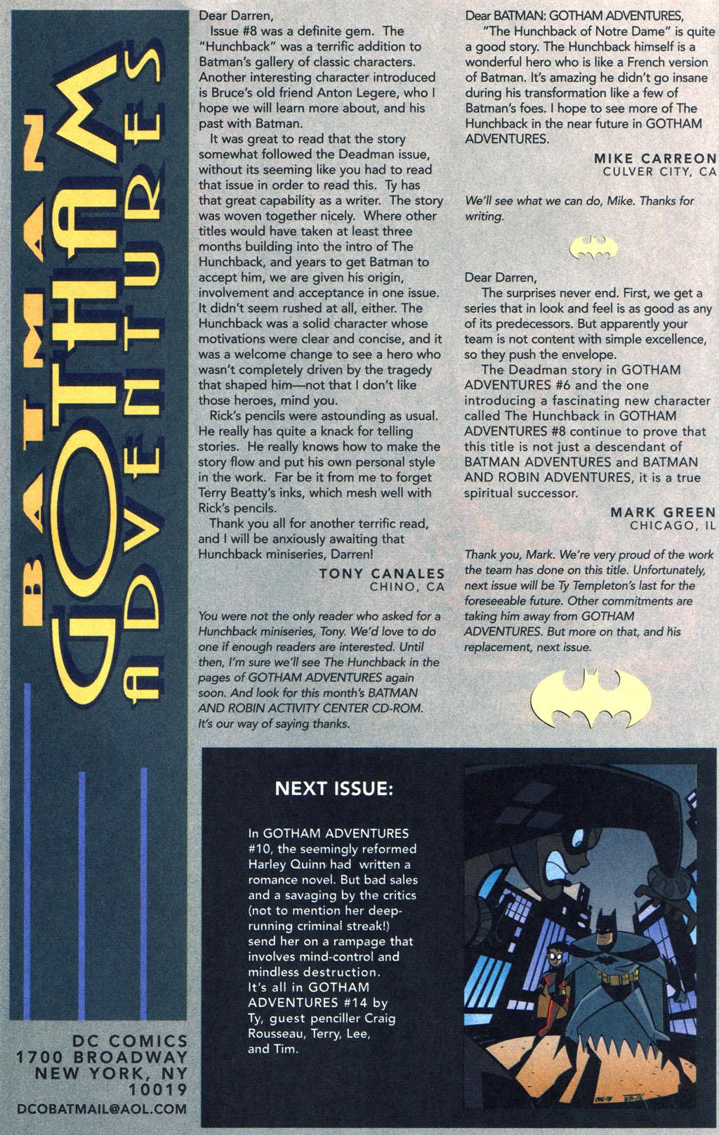 Batman: Gotham Adventures 13 Page 24