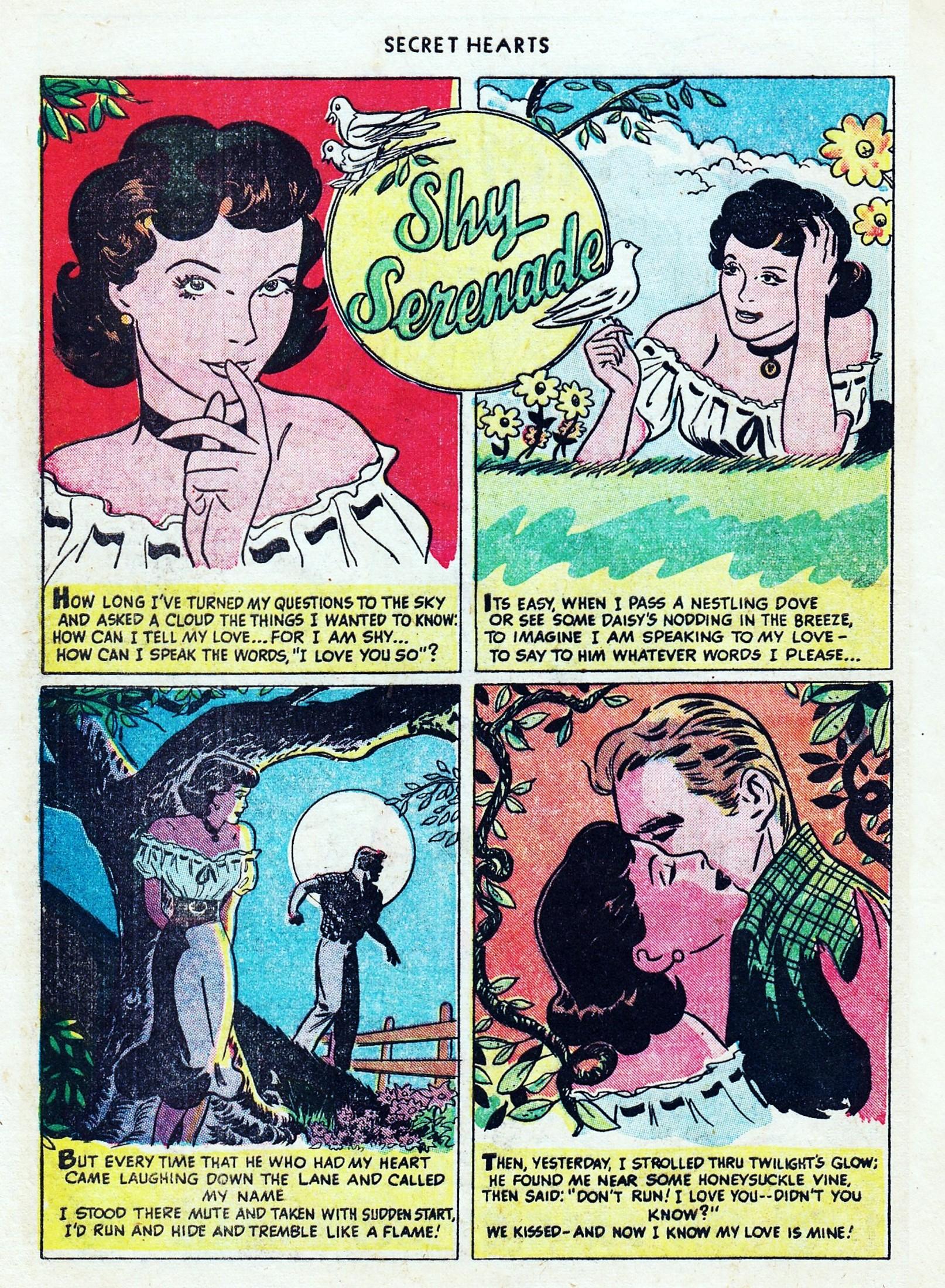 Read online Secret Hearts comic -  Issue #1 - 12