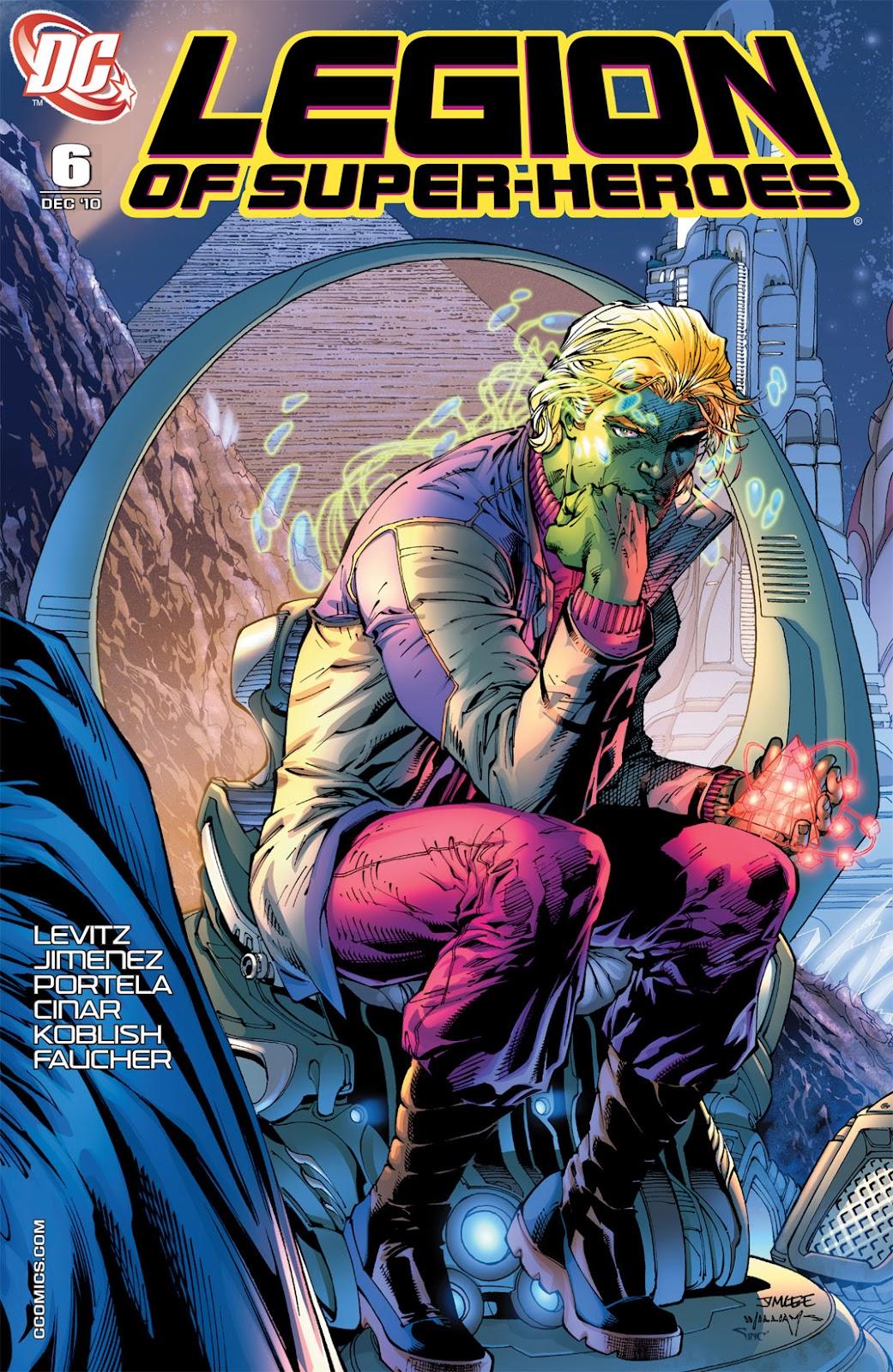 Legion of Super-Heroes (2010) Issue #6 #7 - English 2