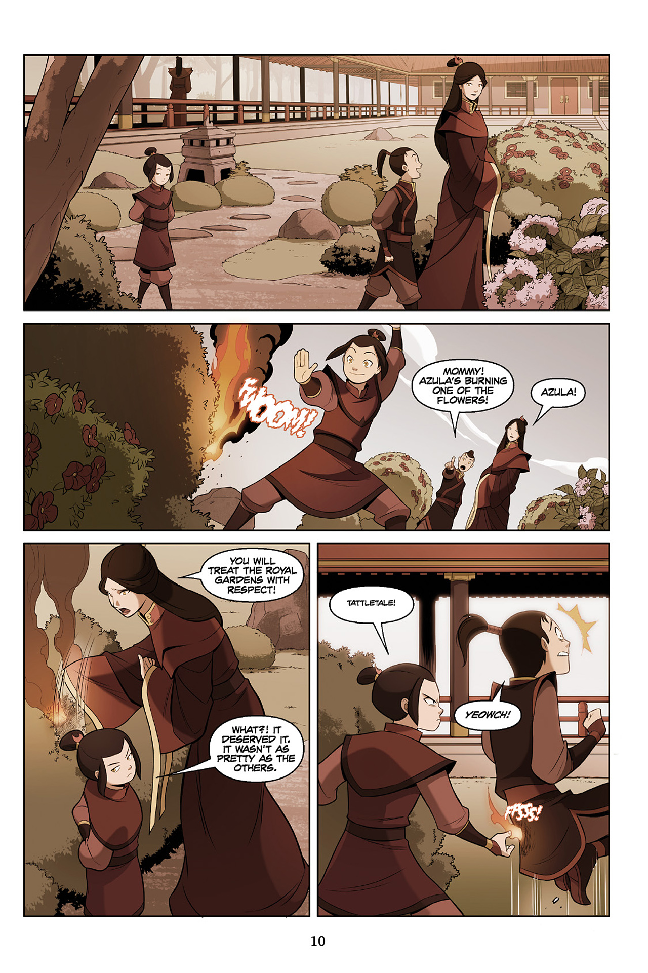 Read online Nickelodeon Avatar: The Last Airbender - The Search comic -  Issue # Part 2 - 11