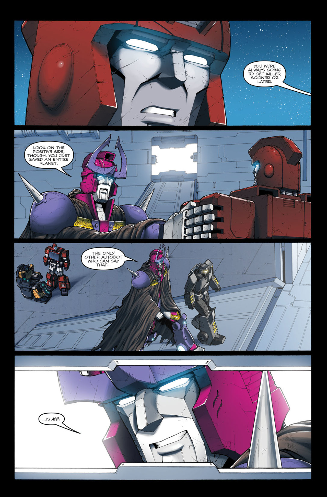 Read online The Transformers: Ironhide comic -  Issue #4 - 23