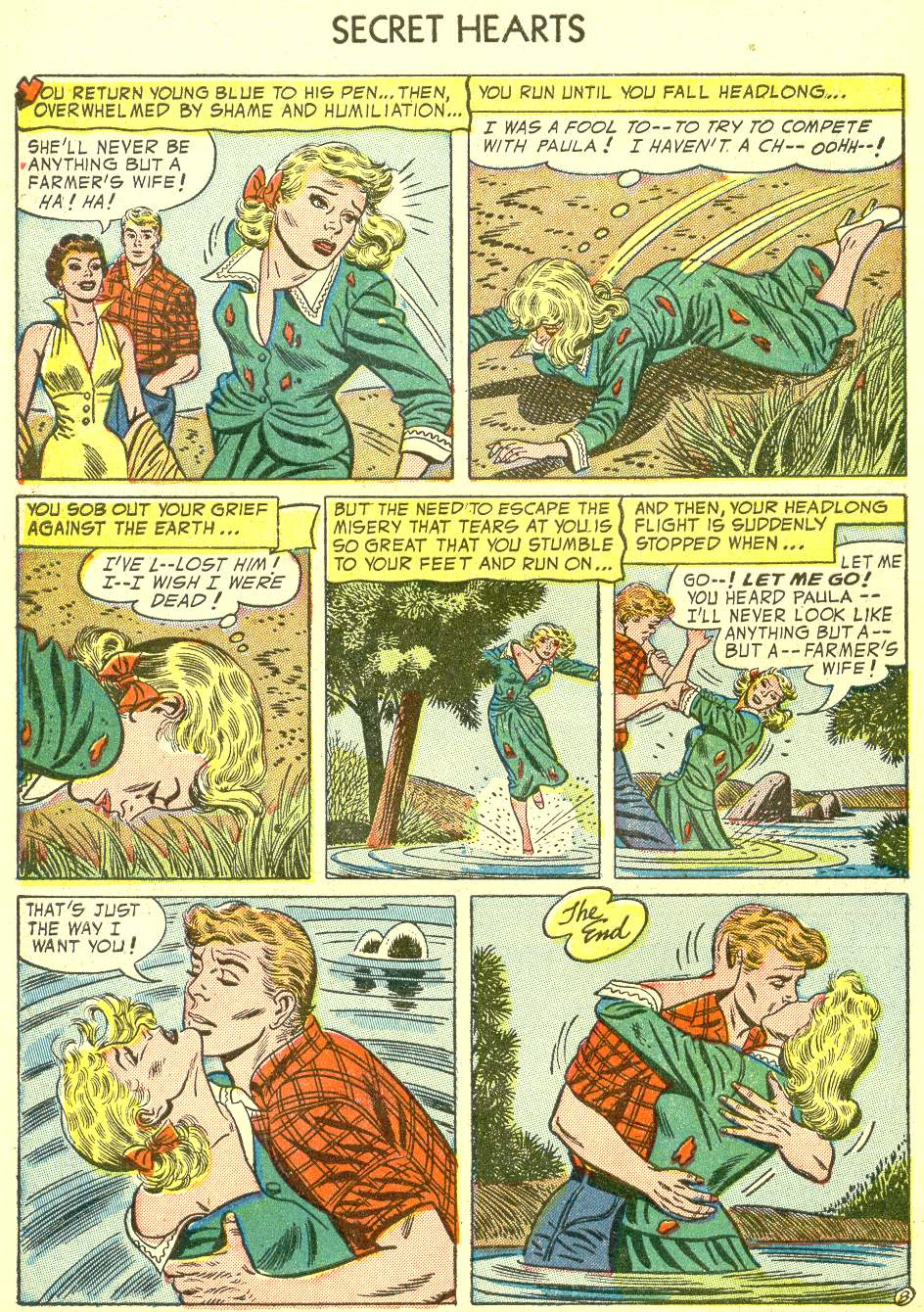 Read online Secret Hearts comic -  Issue #21 - 34