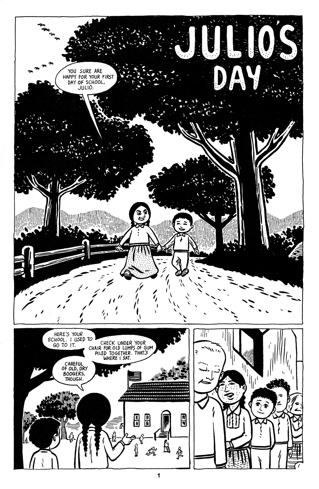 Read online Love and Rockets (2001) comic -  Issue #2 - 3