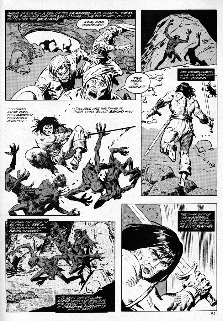 The Savage Sword Of Conan Issue #38 #39 - English 51