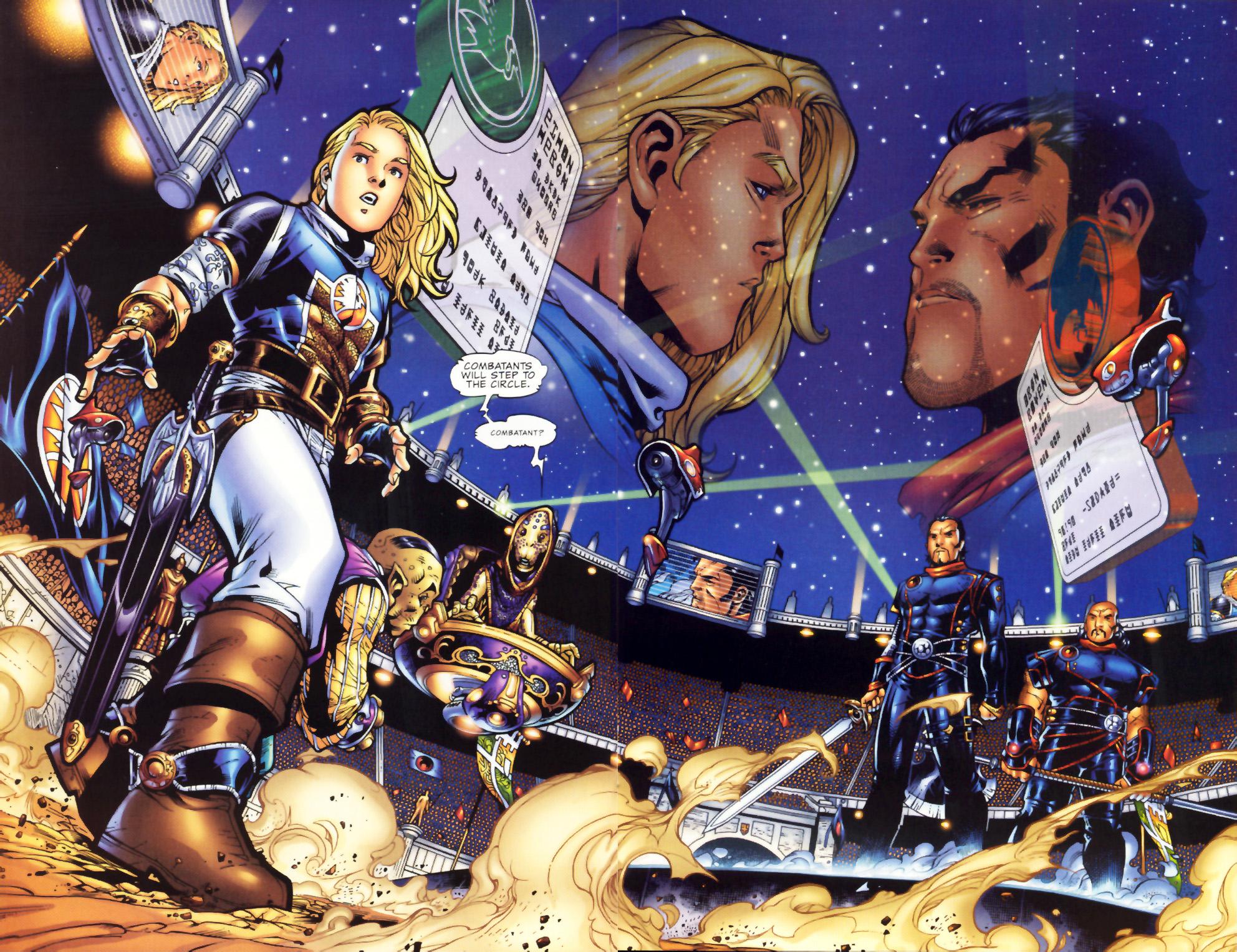Read online Scion comic -  Issue #1 - 18