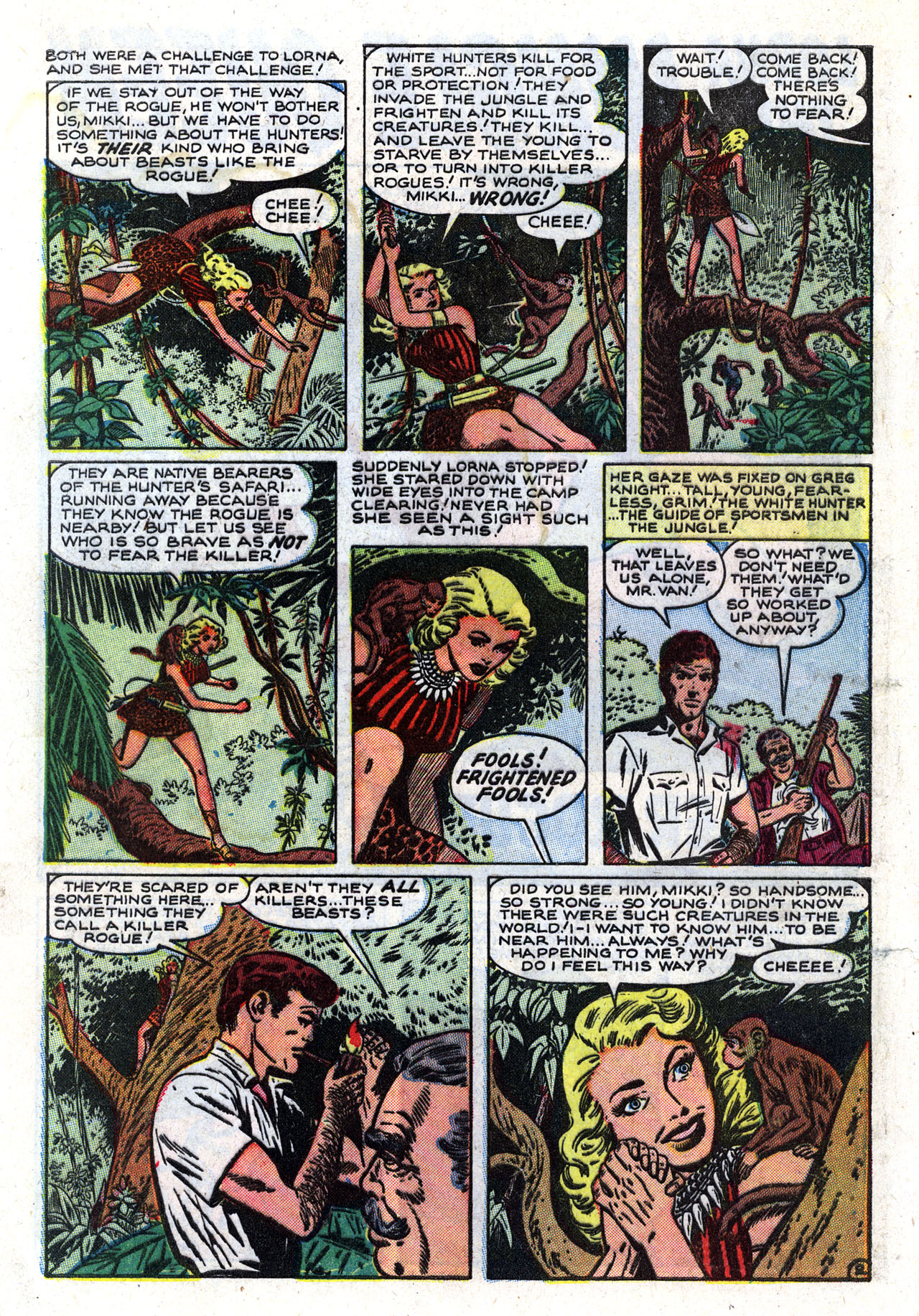 Read online Lorna, The Jungle Queen comic -  Issue #2 - 4