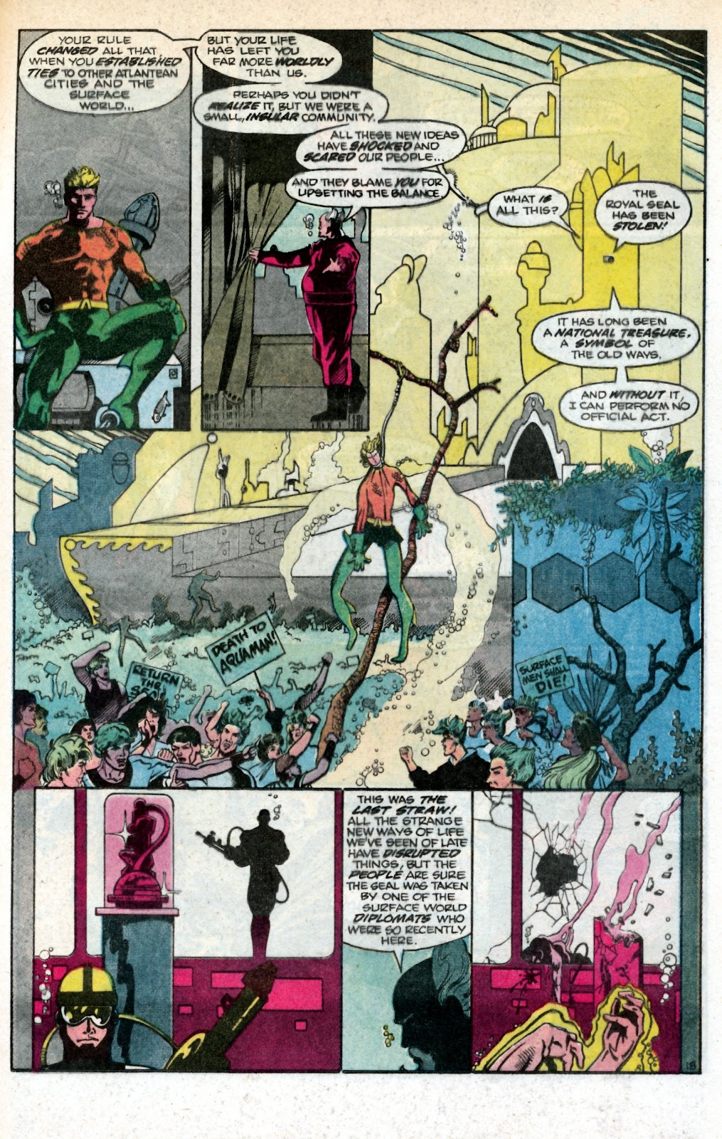 Aquaman (1986) Issue #1 #1 - English 24