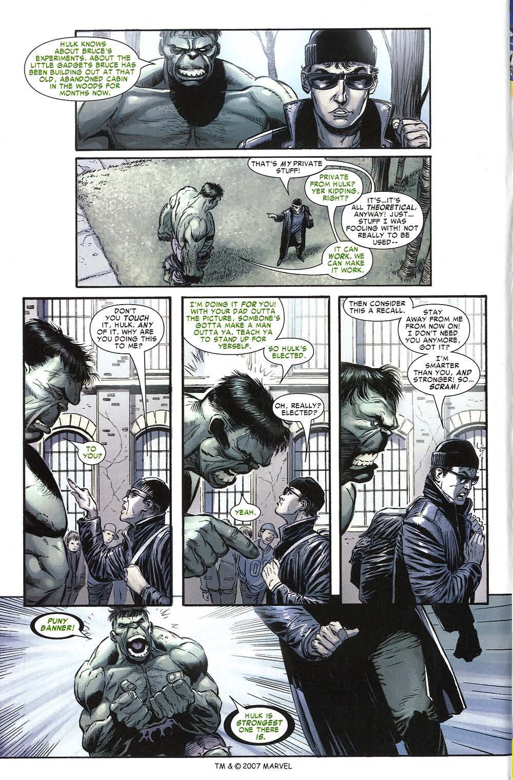 Read online The Incredible Hulk (2000) comic -  Issue #80 - 4