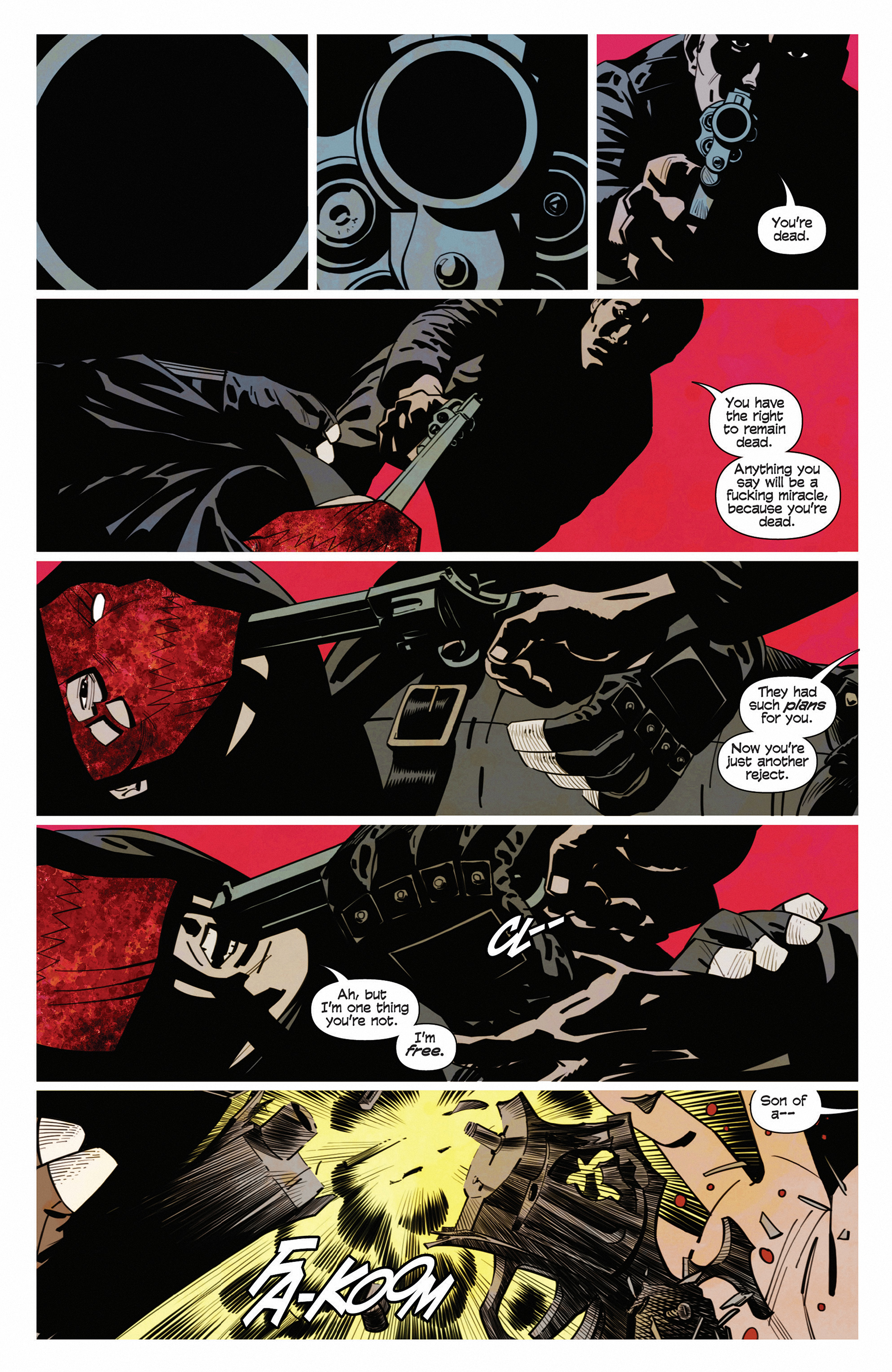 Read online Demonic comic -  Issue #5 - 3