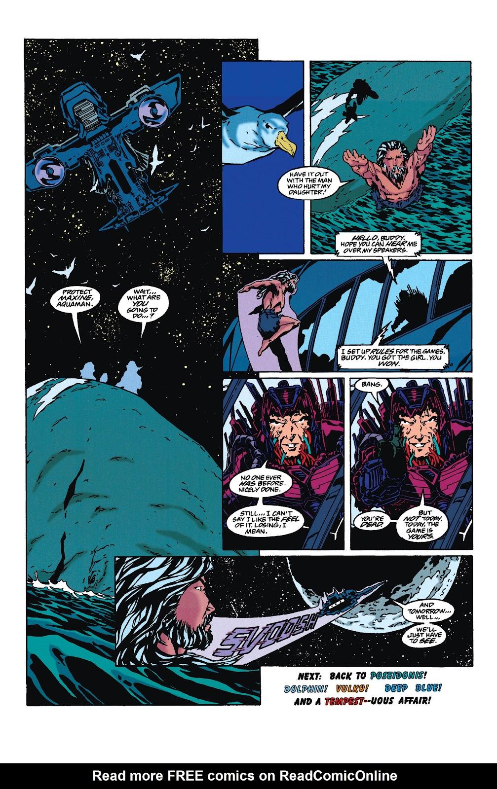 Aquaman (1994) Issue #35 #41 - English 22