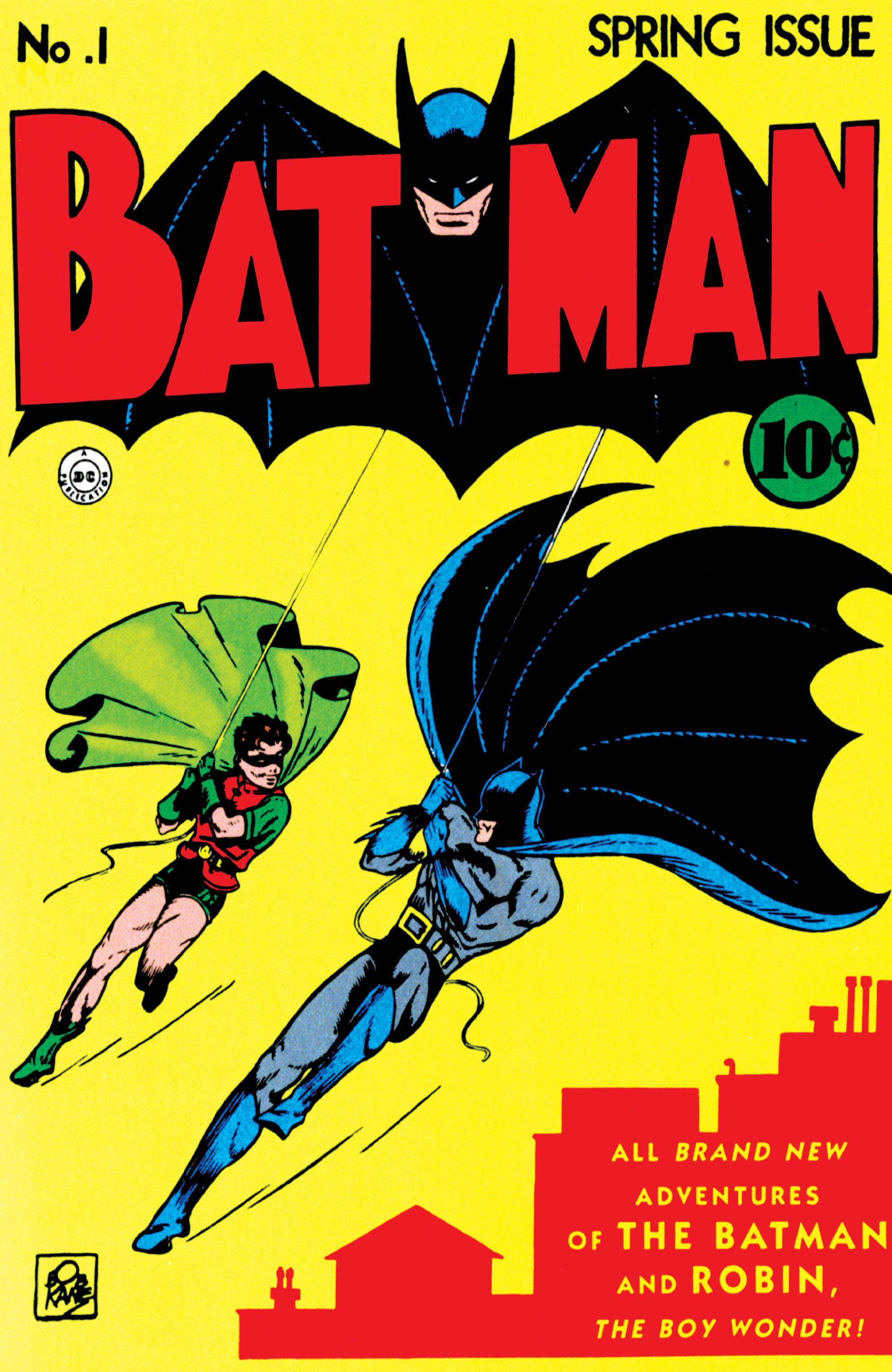 Batman (1940) 1 Page 1