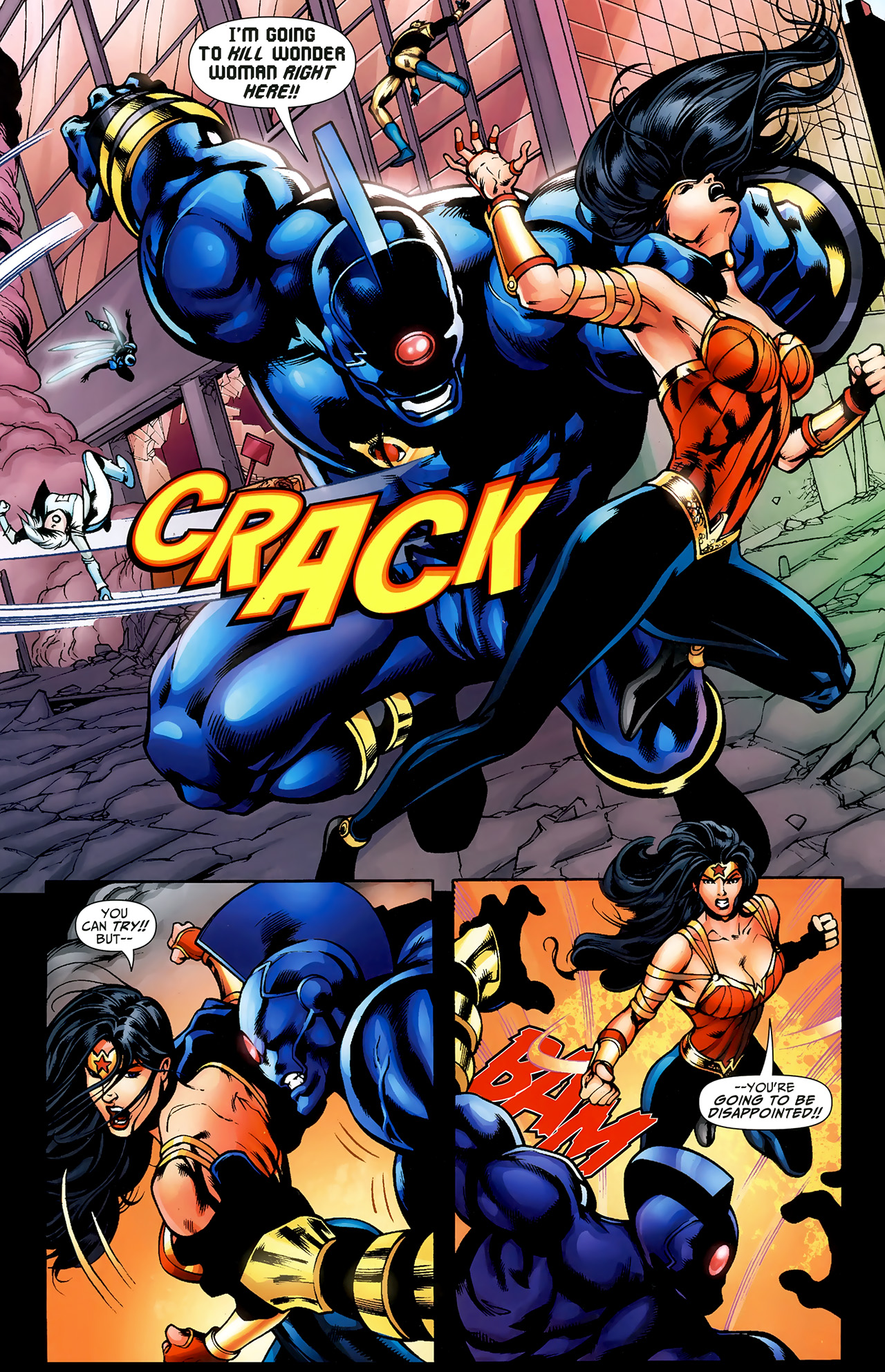 Read online Justice League: Generation Lost comic -  Issue #23 - 15