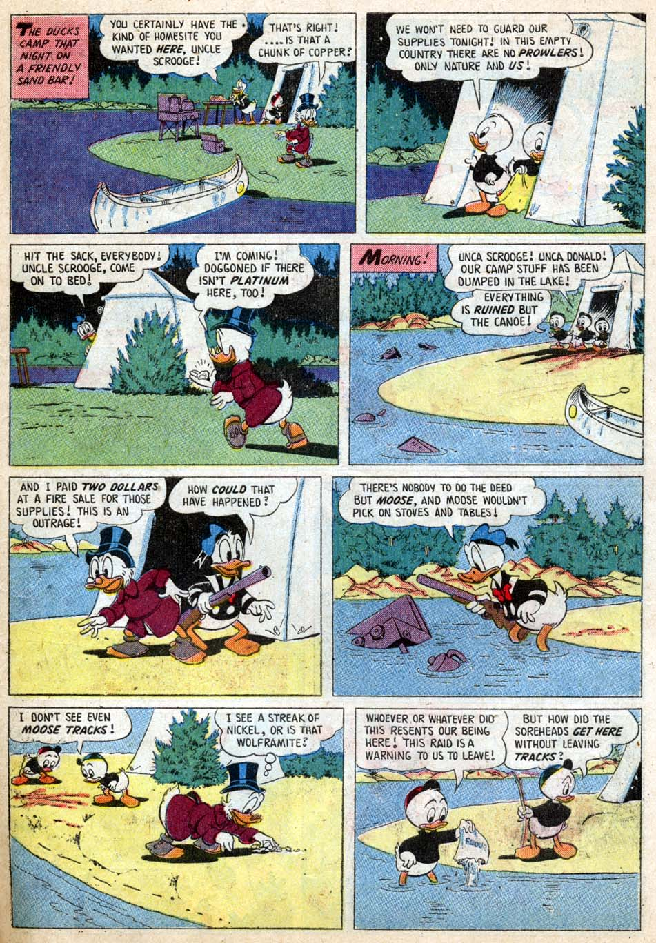 Uncle Scrooge (1953) Issue #18 #18 - English 7