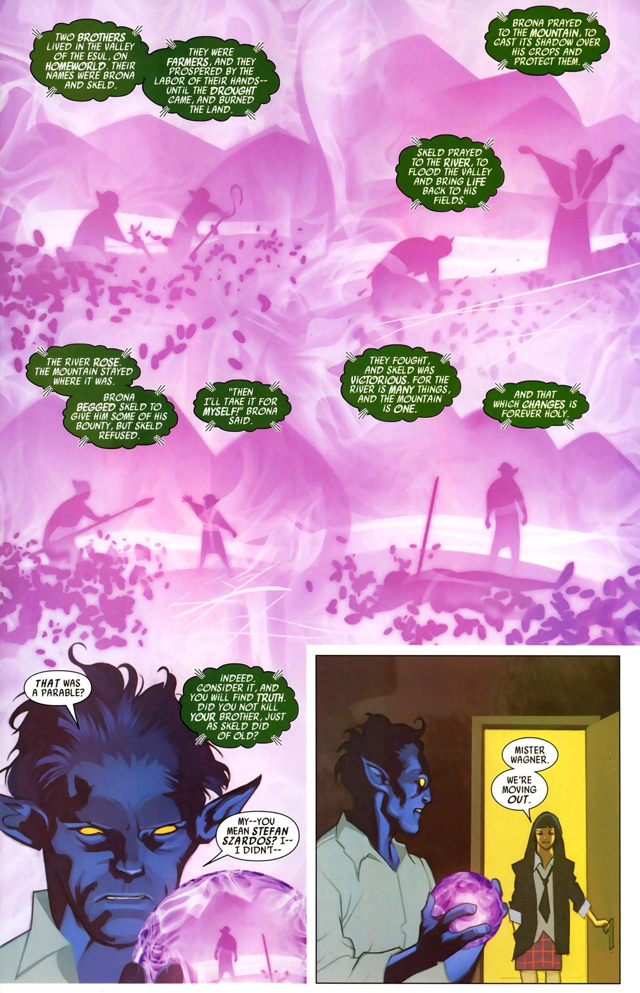 Read online Secret Invasion: X-Men comic -  Issue #2 - 11