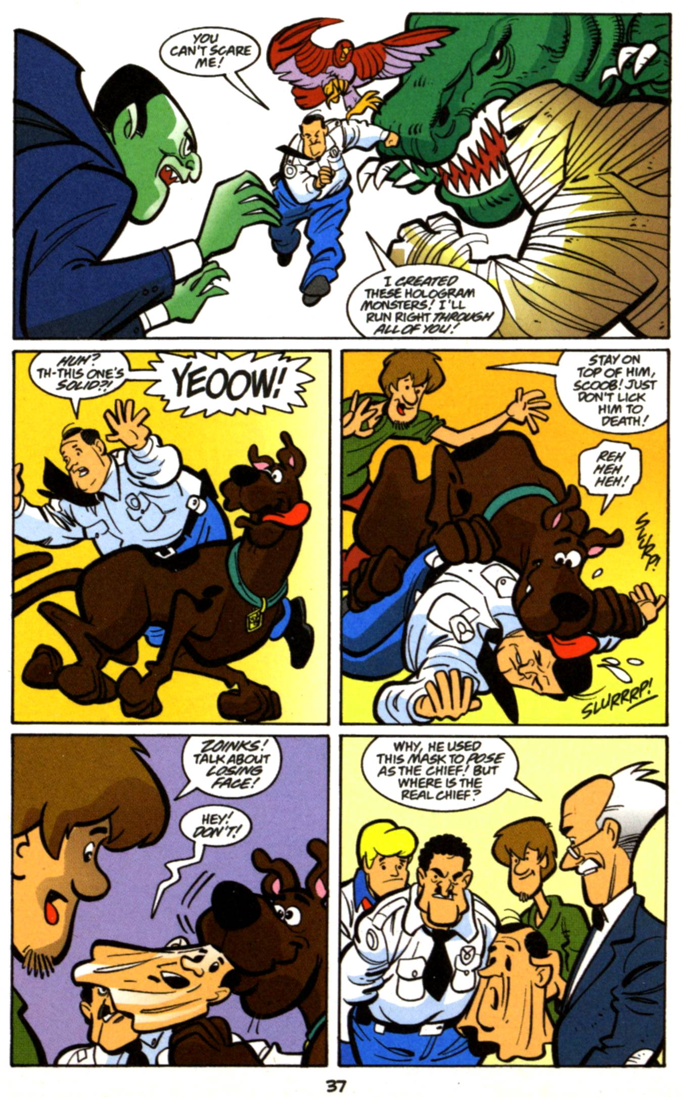 Read online Scooby-Doo (1997) comic -  Issue #17 - 14