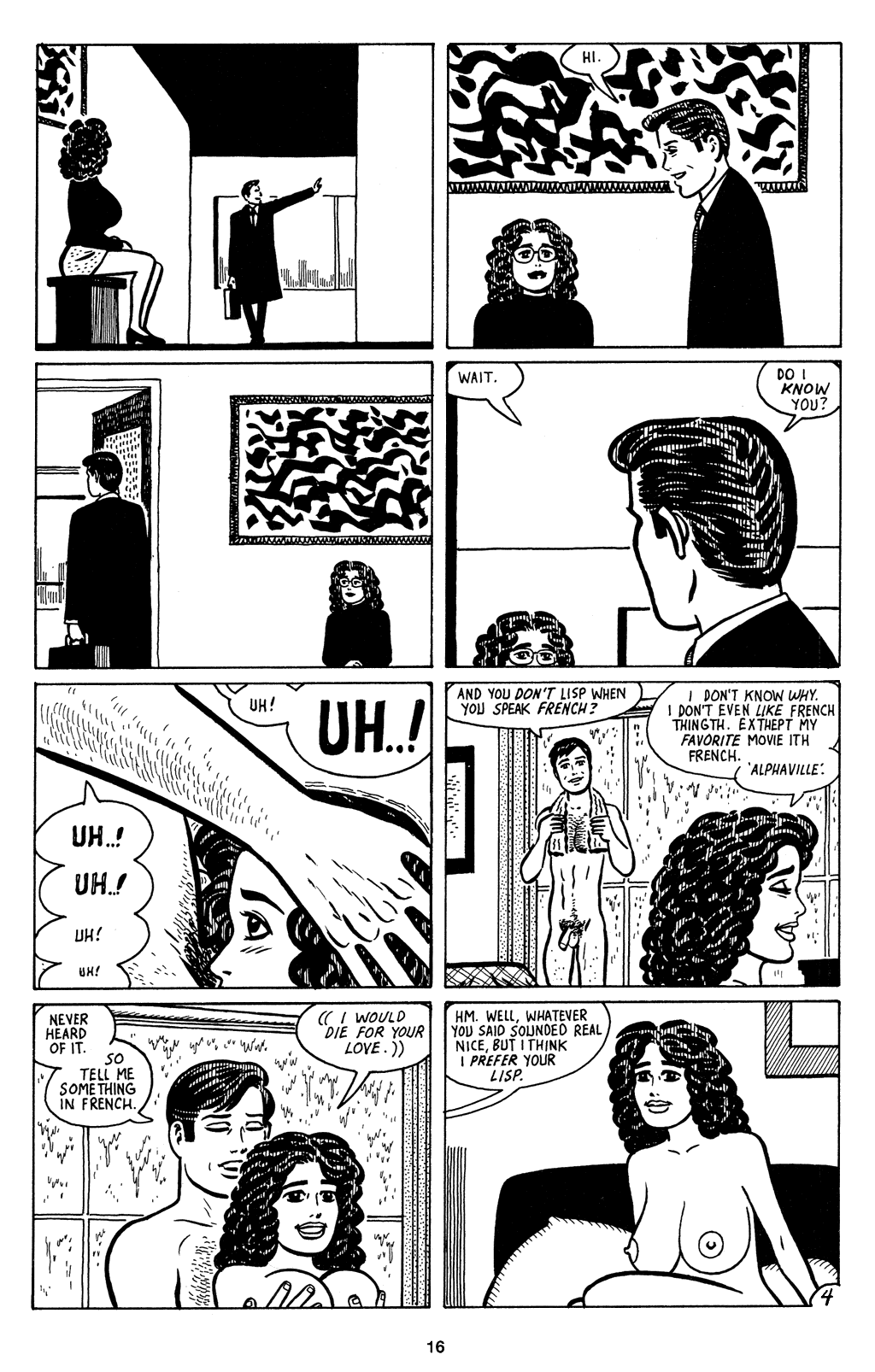 Read online Love and Rockets (2001) comic -  Issue #4 - 17