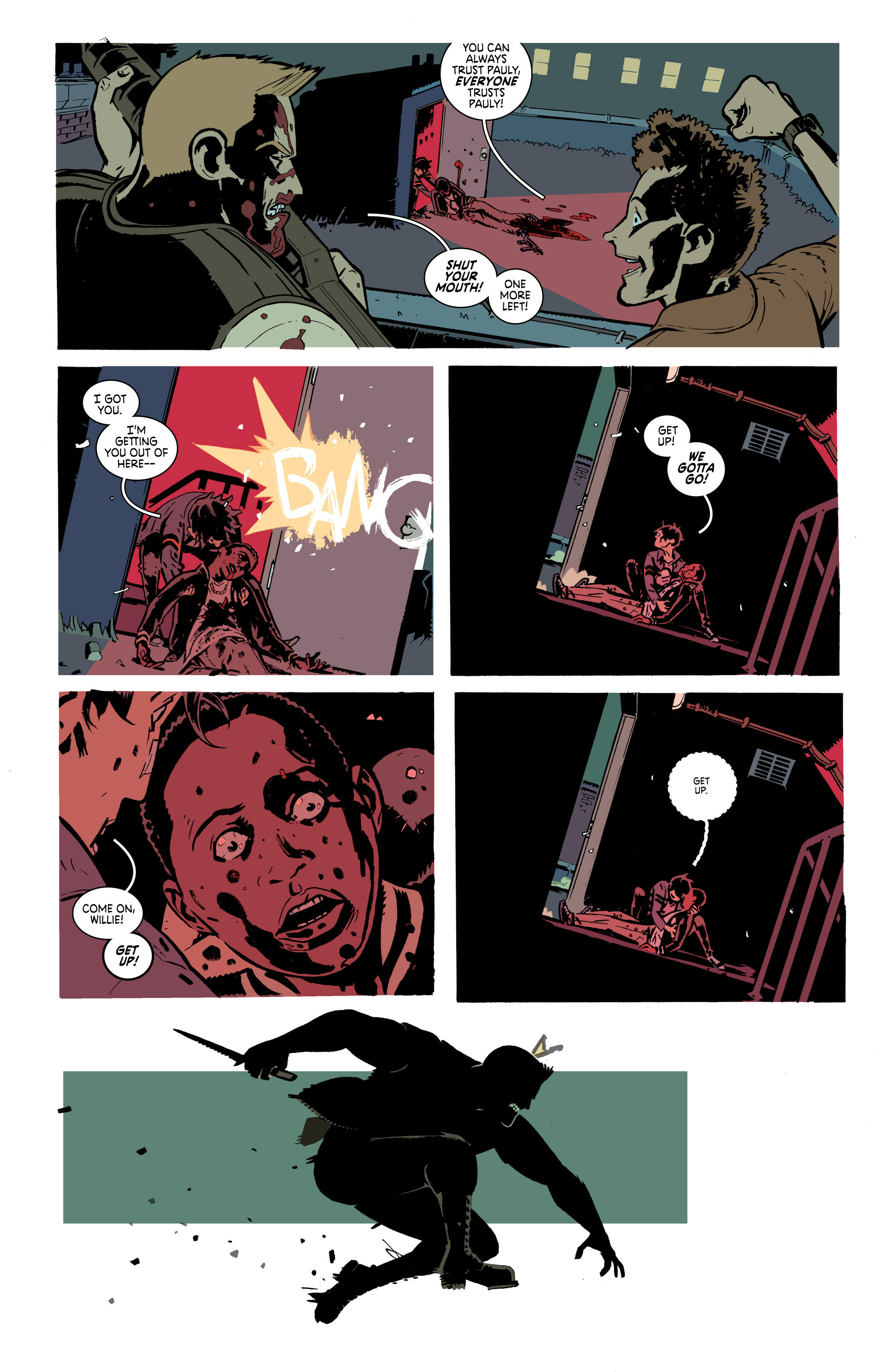Read online Deadly Class comic -  Issue #21 - 25