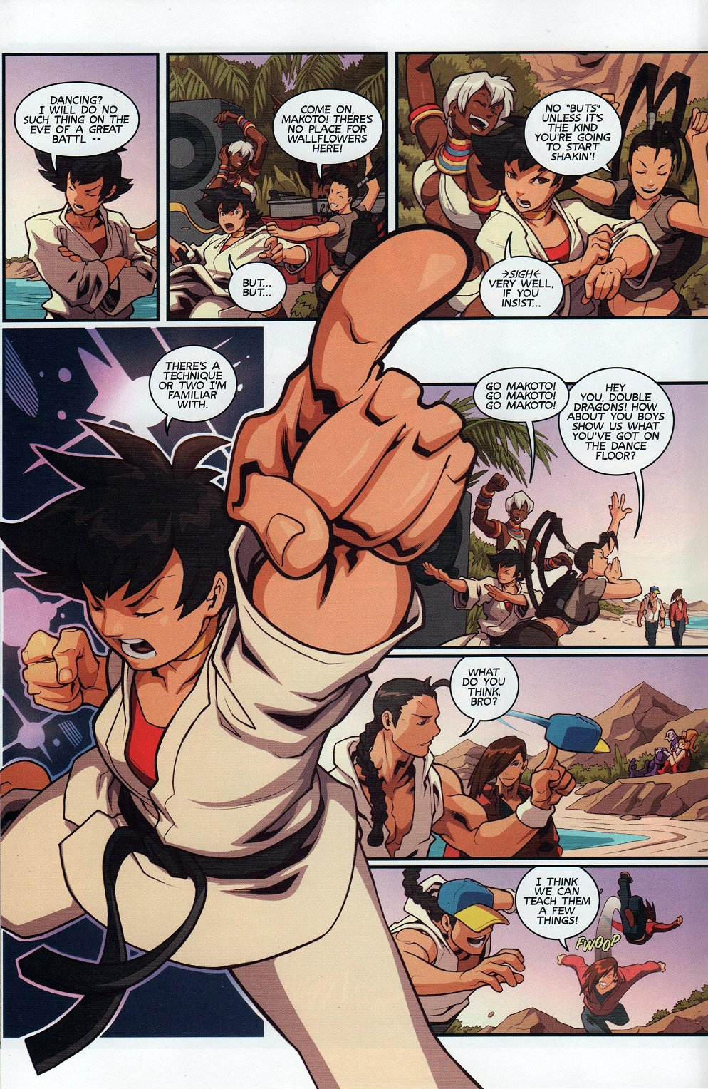 Street Fighter Unlimited Issue #7 #9 - English 14