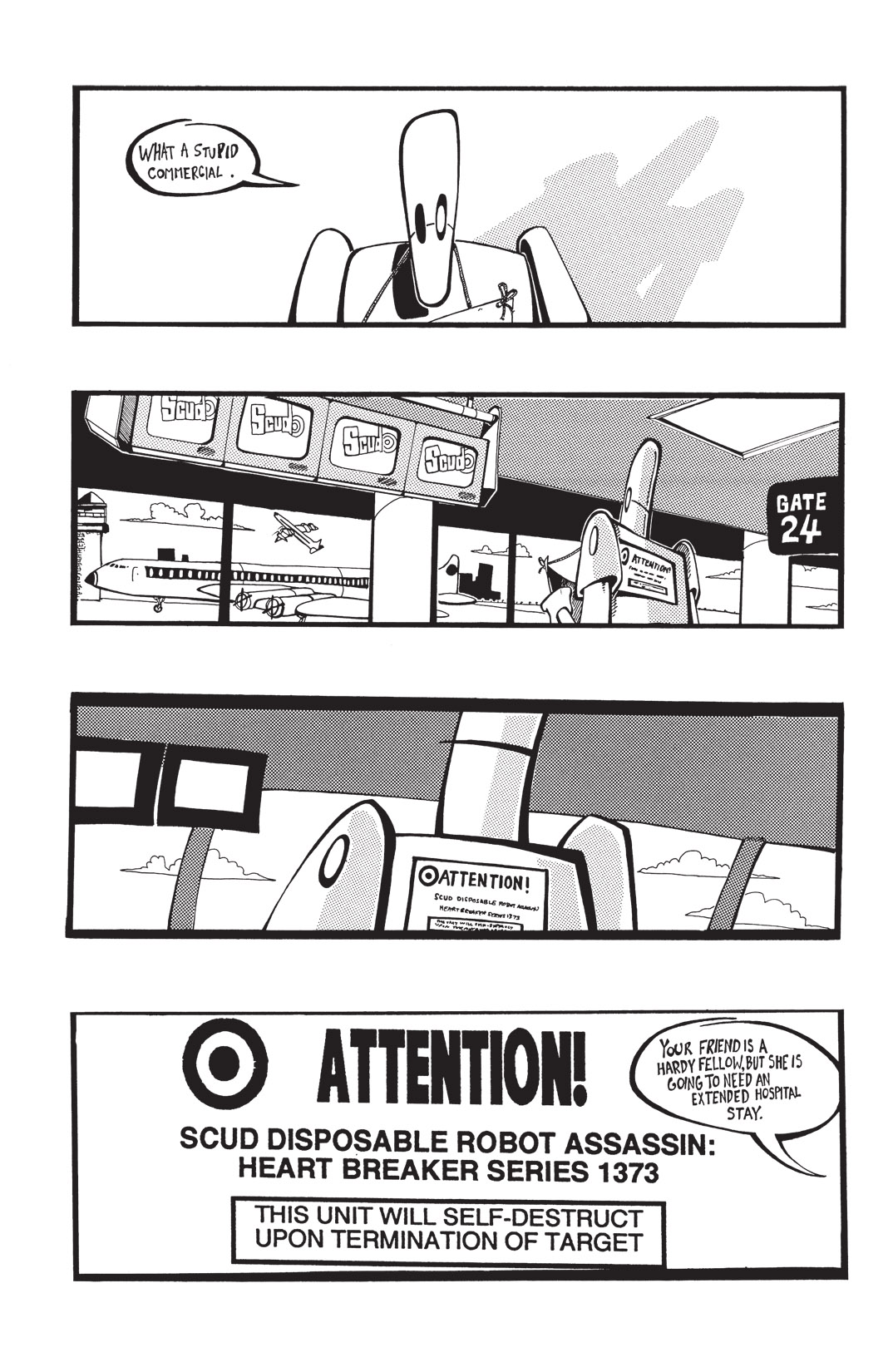 Read online Scud: The Disposable Assassin: The Whole Shebang comic -  Issue # TPB (Part 1) - 40