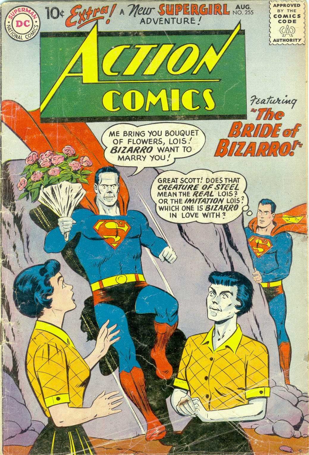 Action Comics (1938) 255 Page 1