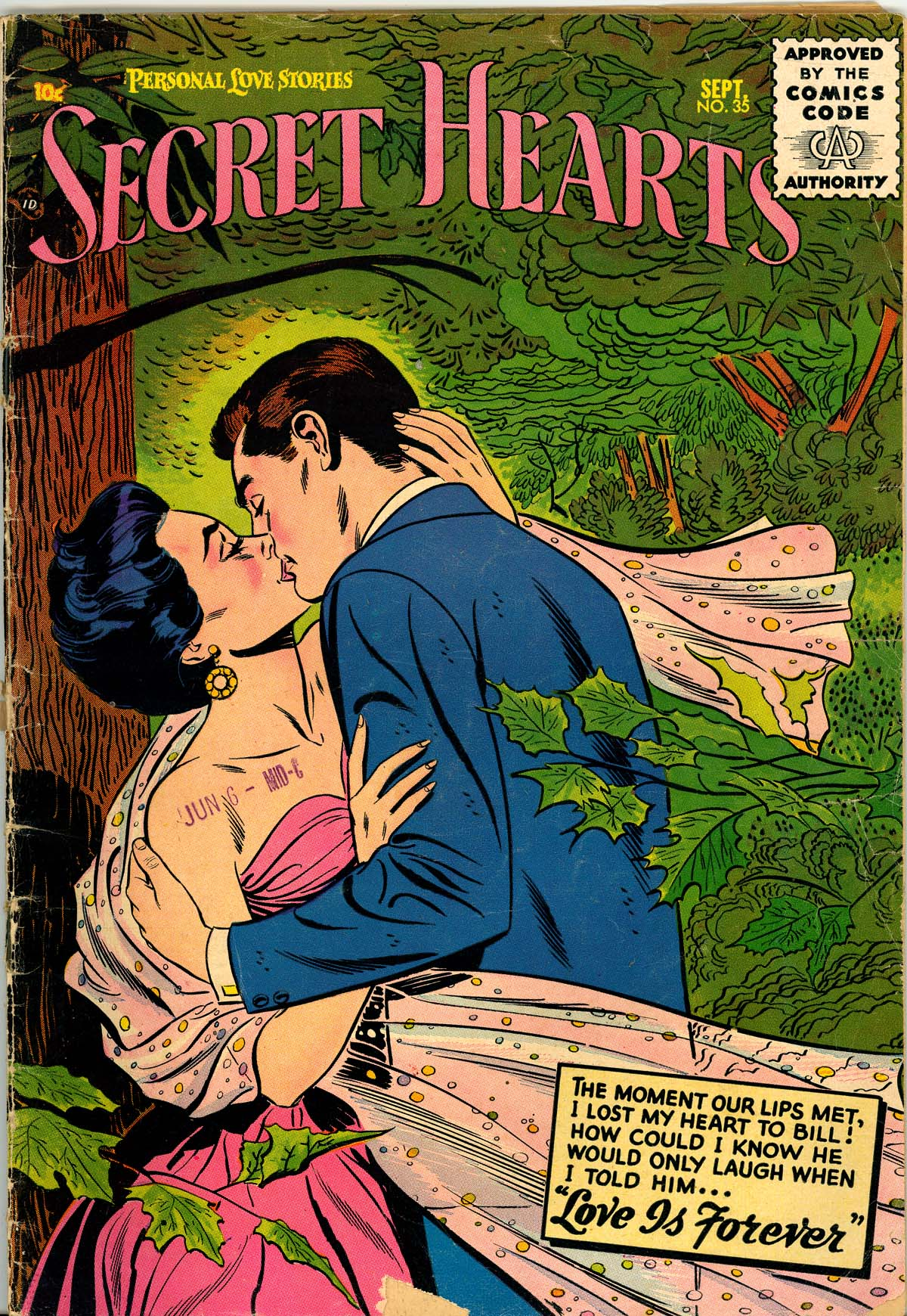 Read online Secret Hearts comic -  Issue #35 - 1
