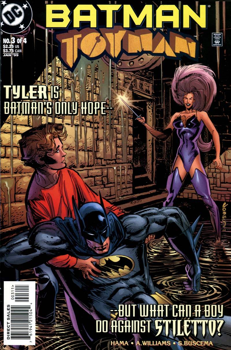Batman: Toyman 3 Page 1