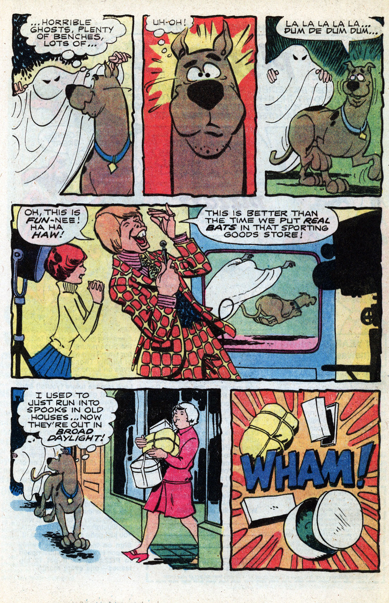 Read online Scooby-Doo (1977) comic -  Issue #3 - 21