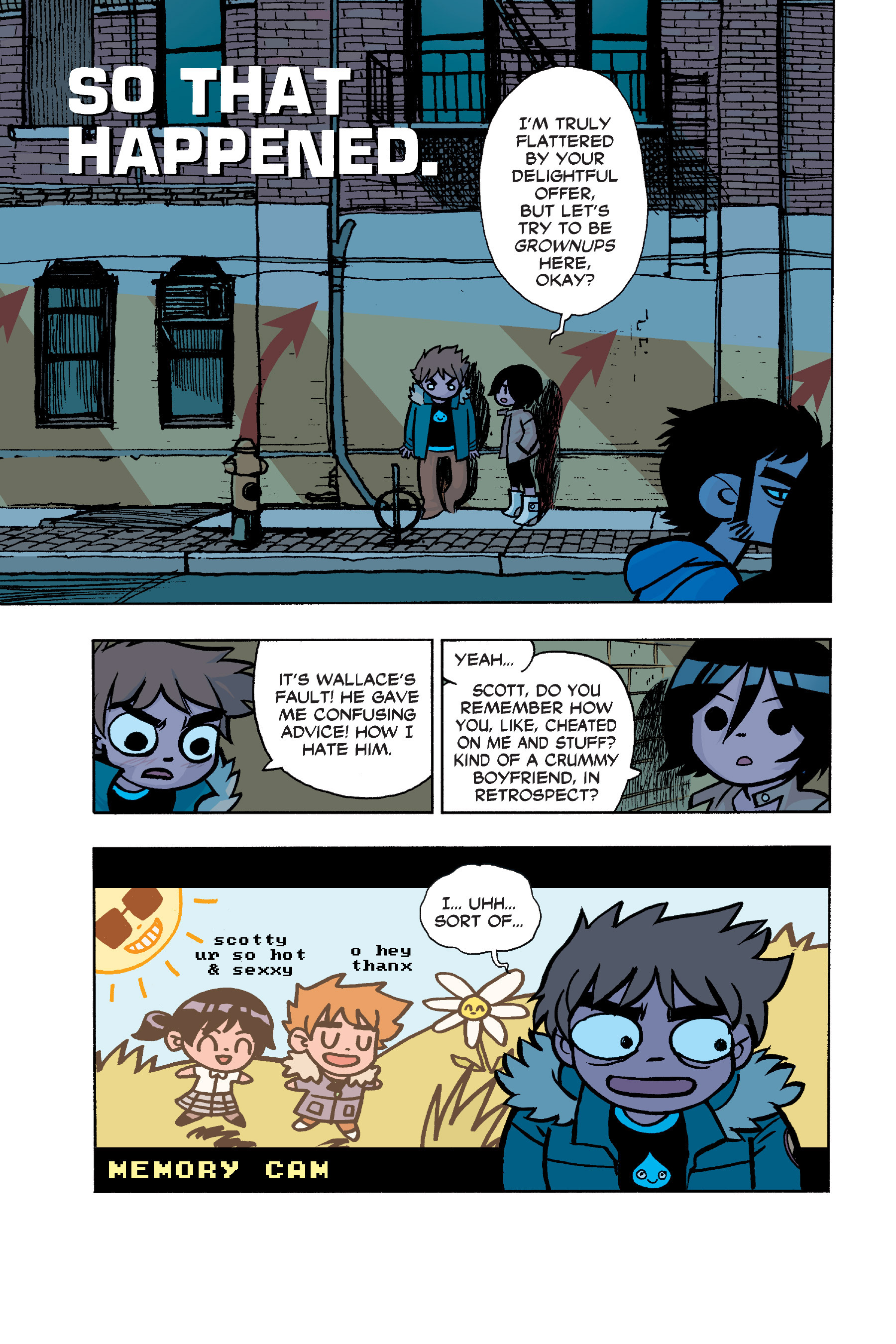 Read online Scott Pilgrim comic -  Issue #6 - 34