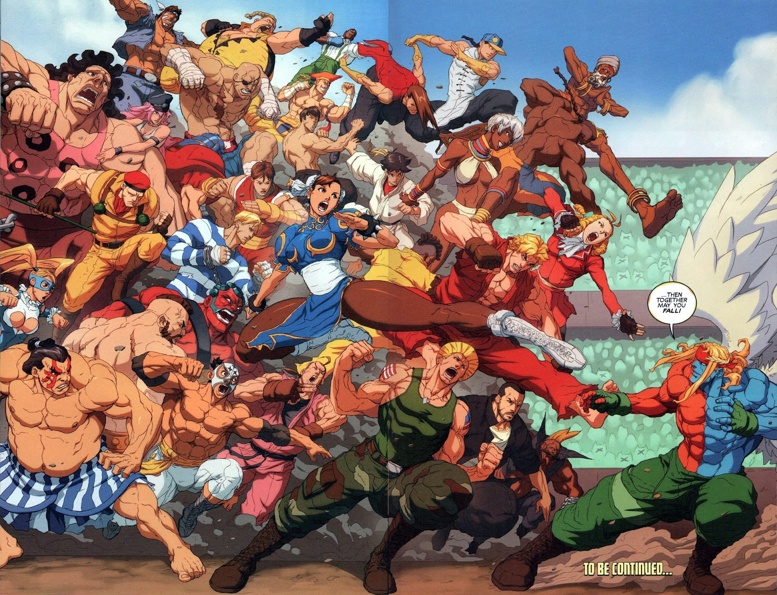 Street Fighter Unlimited Issue #10 #12 - English 22