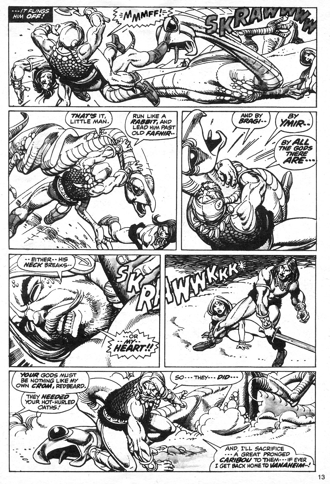 The Savage Sword Of Conan Issue #13 #14 - English 13