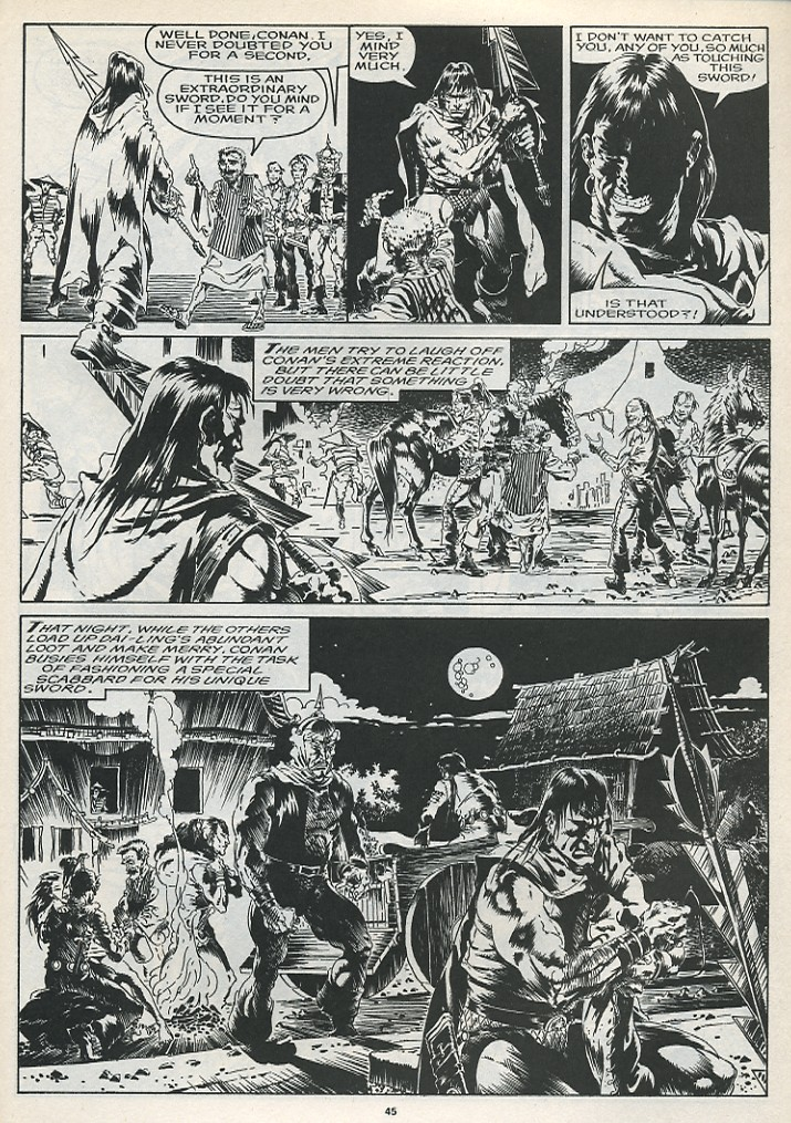 The Savage Sword Of Conan Issue #175 #176 - English 47