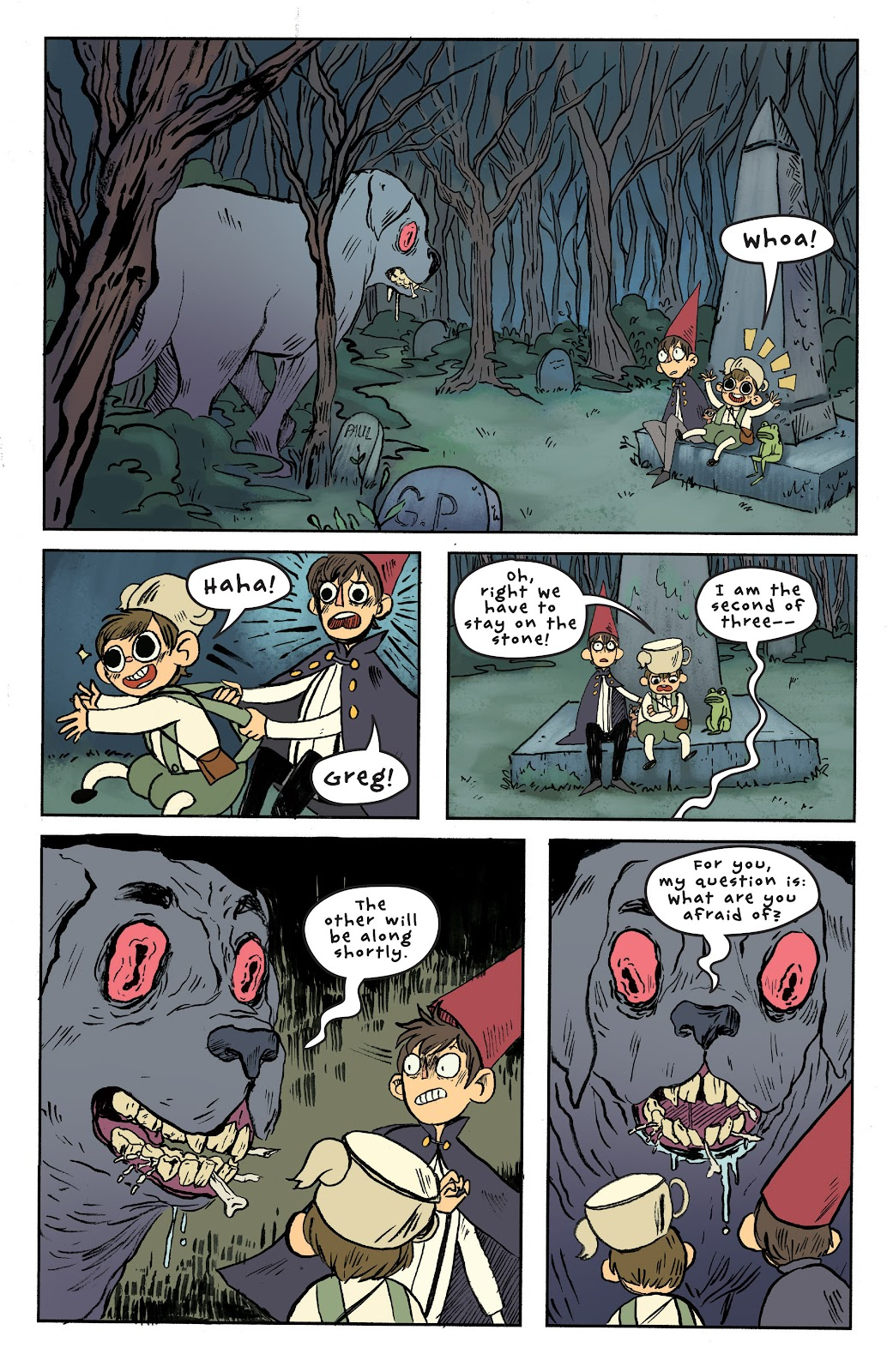 Over the Garden Wall (2016) Issue #6 #6 - English 19