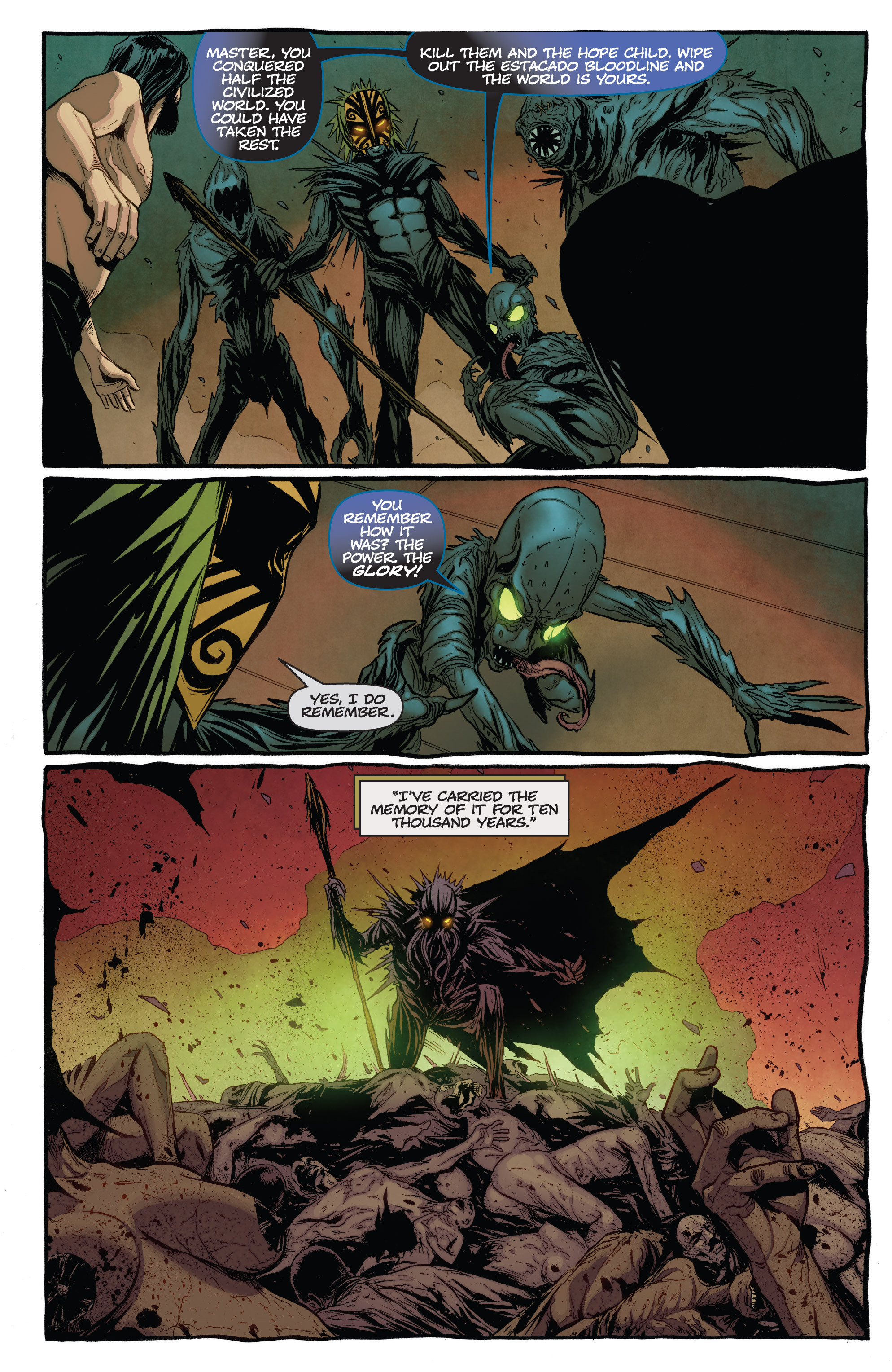 Read online The Darkness (2007) comic -  Issue #115 - 11